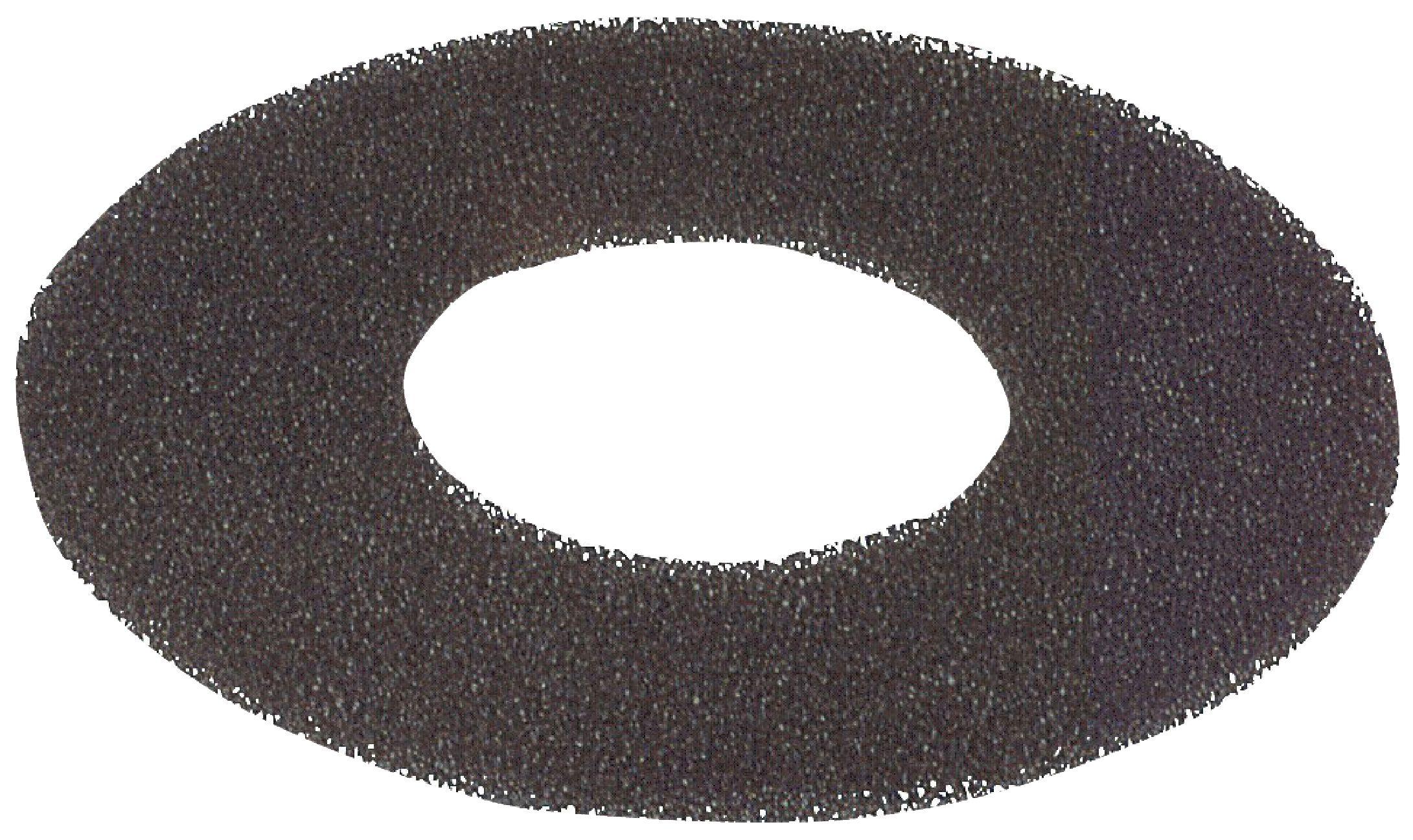 Tukový filtr do digestoře, Ø 25 cm HQ W4-49959/BLK
