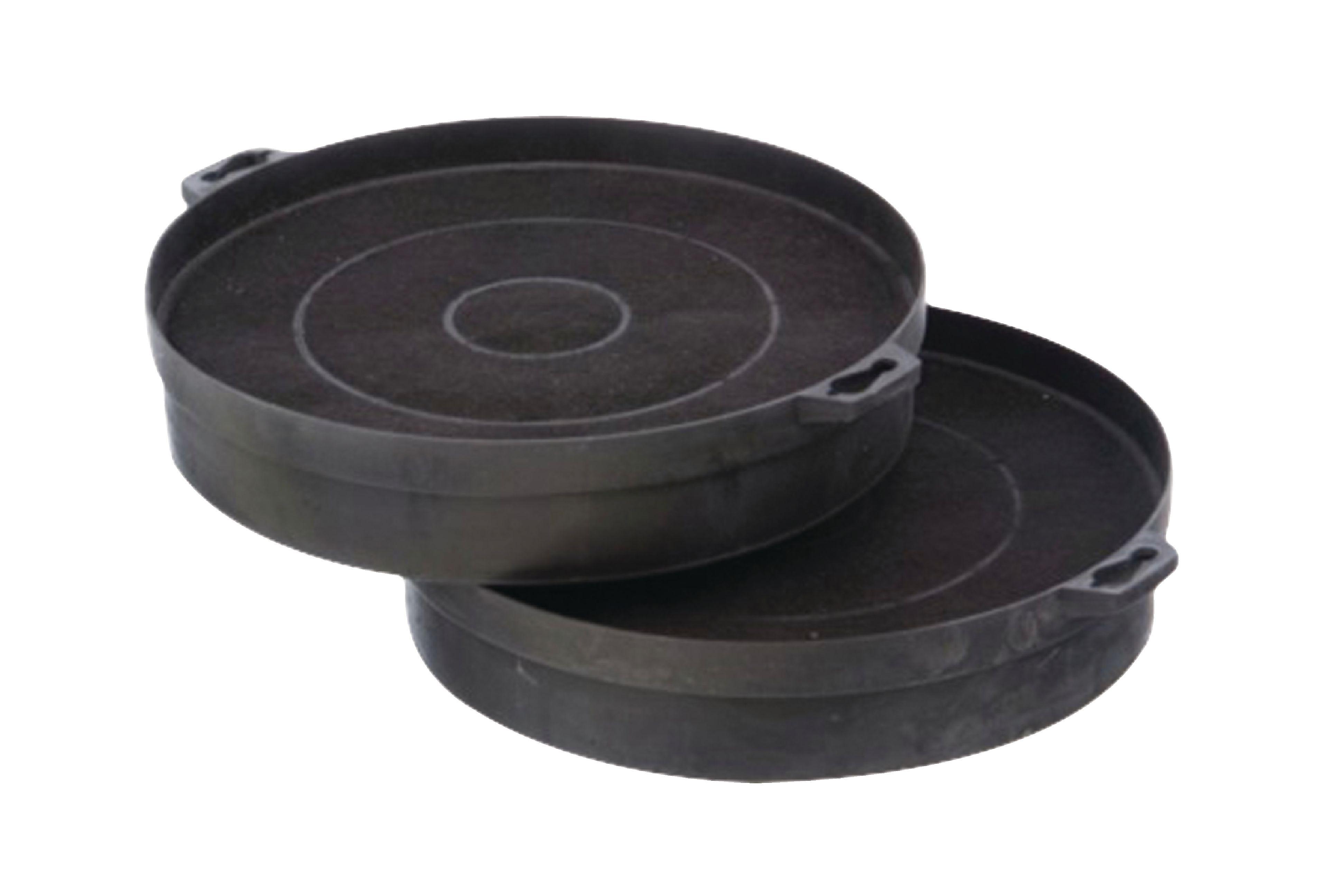 Uhlíkový filtr do digestoře Bosh/Siemens, Ø 20 cm, 2ks
