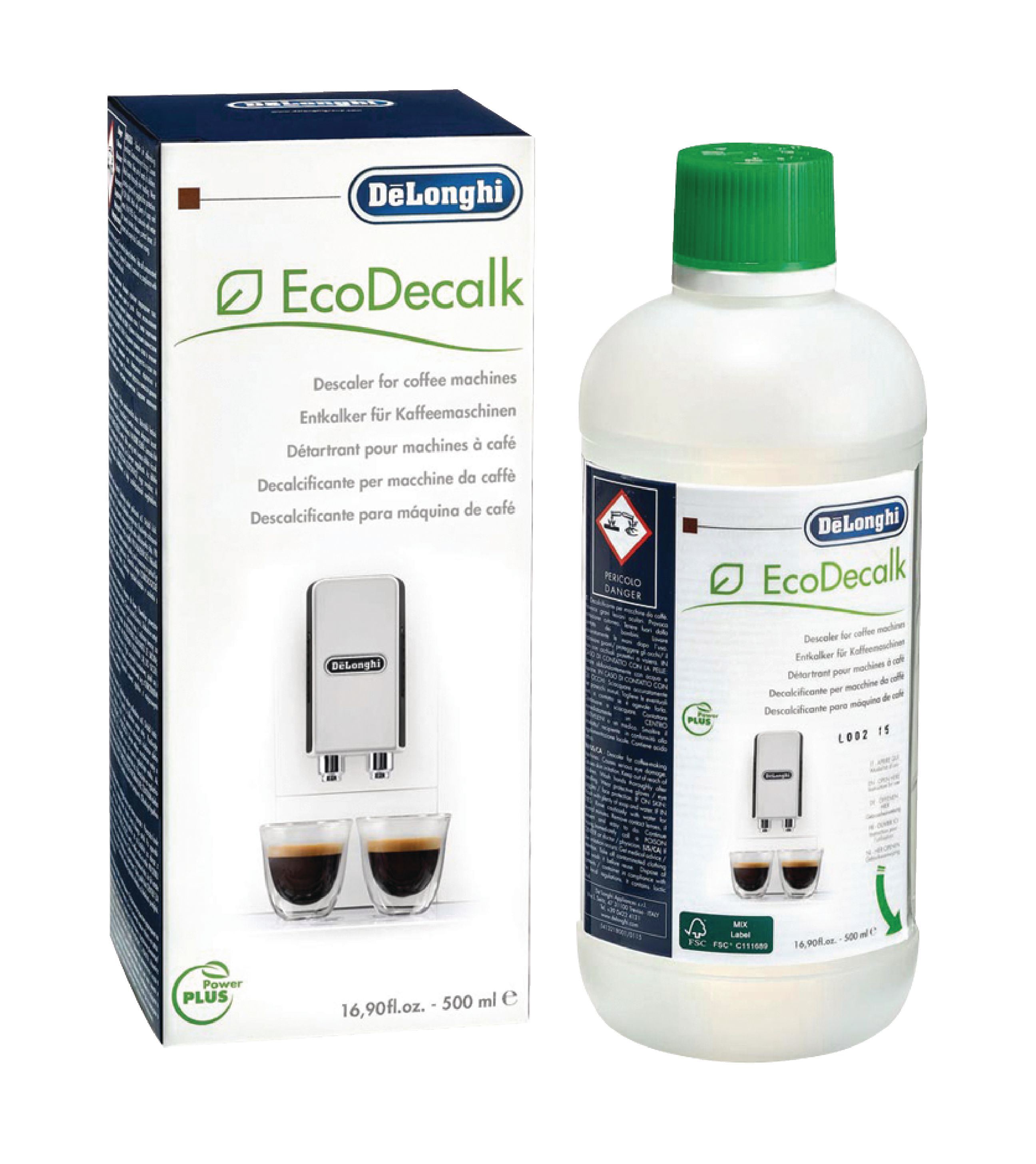 Odvápňovač Eco Decalc 500 ml, DeLonghi 5513296041