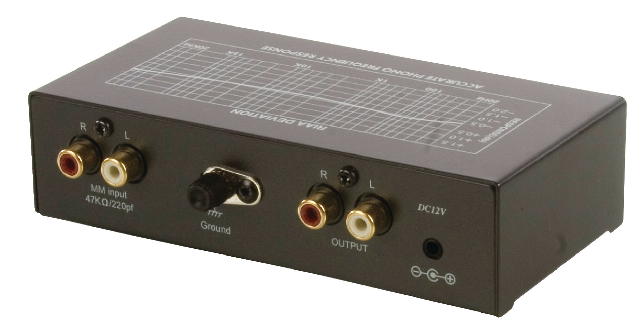 Profi předzesilovač MM pro gramofon, TC750 PRE AMP-PRO