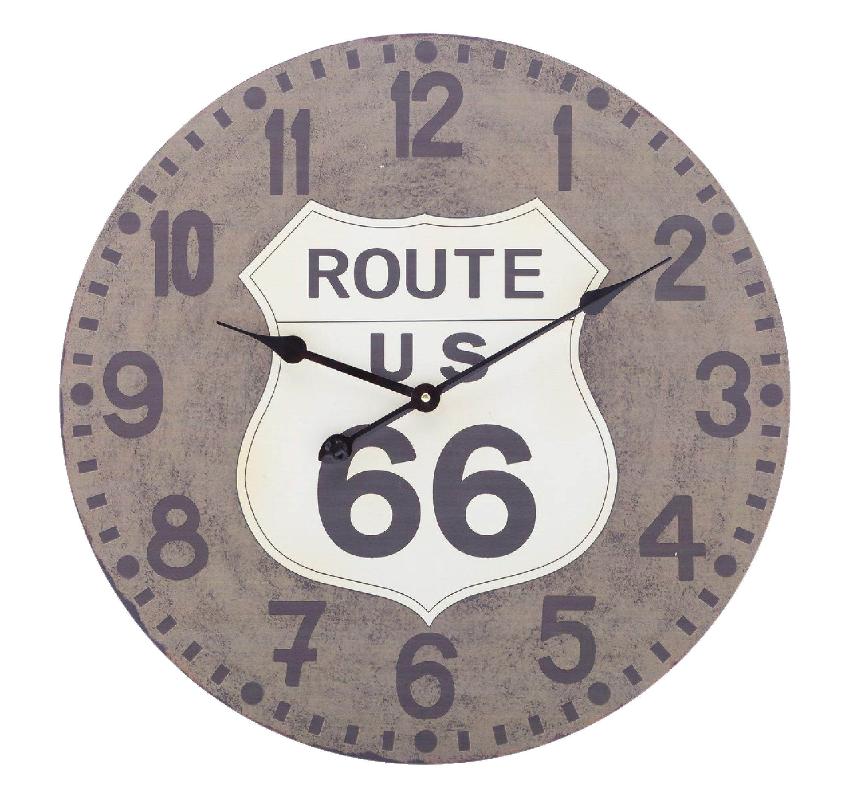 Route 66 analogové nástěnné hodiny 60 cm Balance 306666