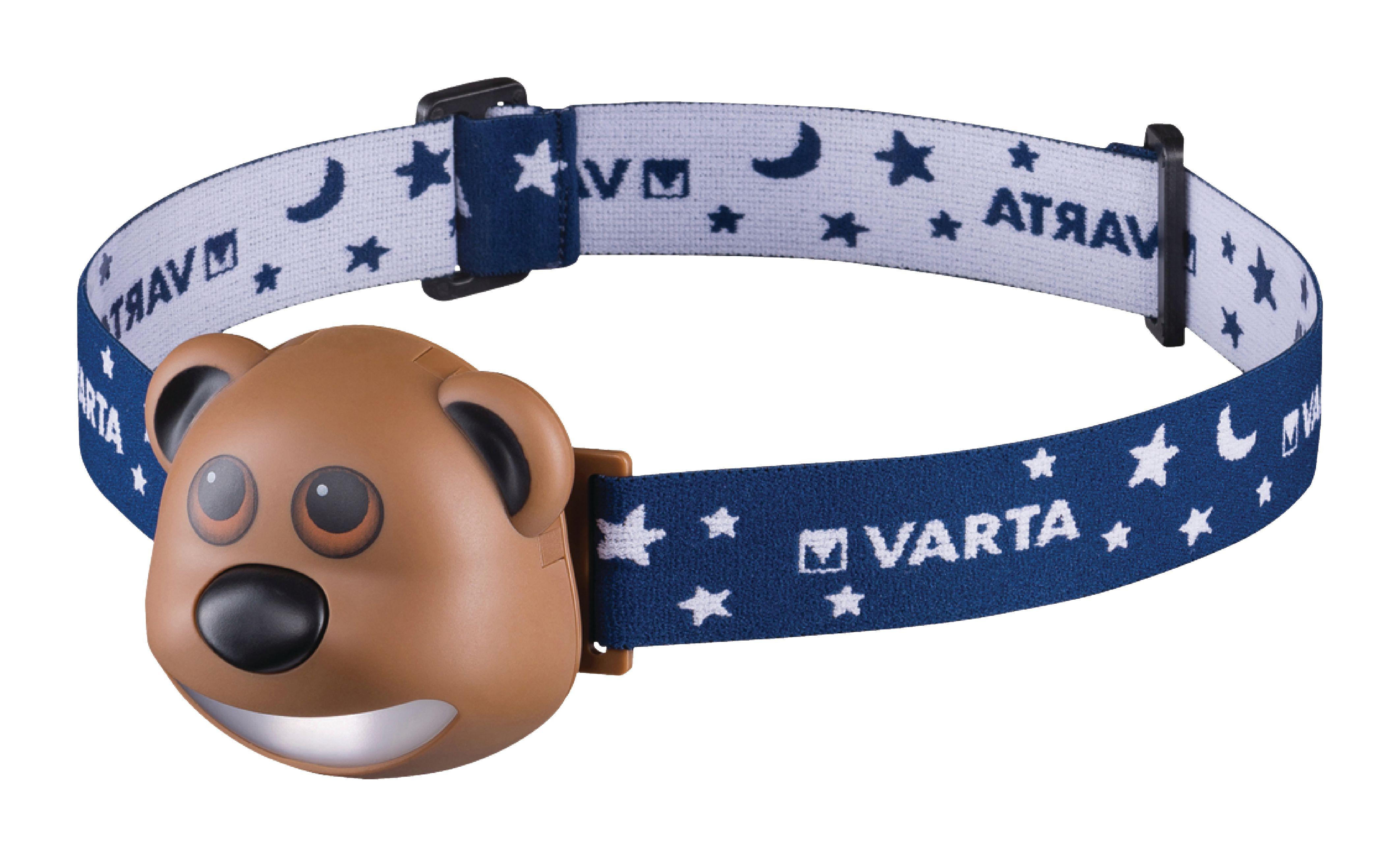LED čelovka Varta medvídek Paul, VARTA-17500