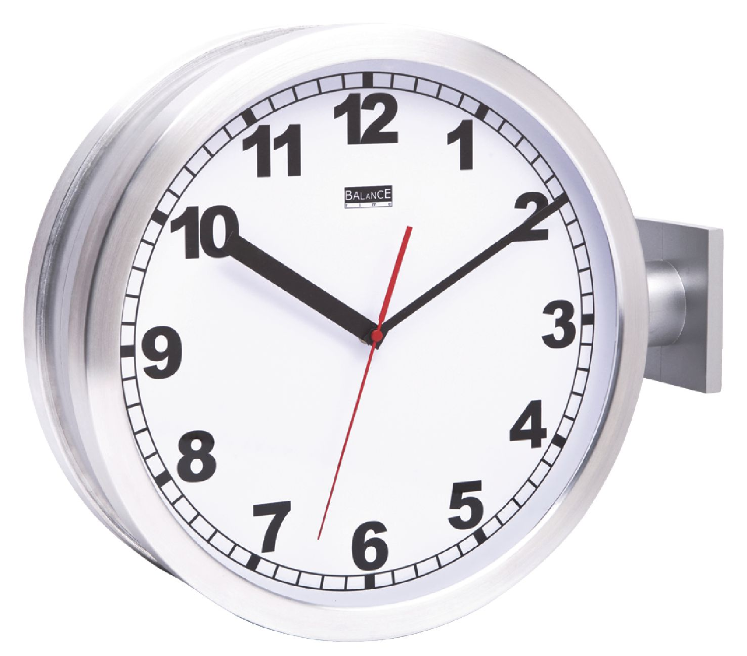 Oboustranné hodiny 38 cm Balance 176658, HE-CLOCK-86