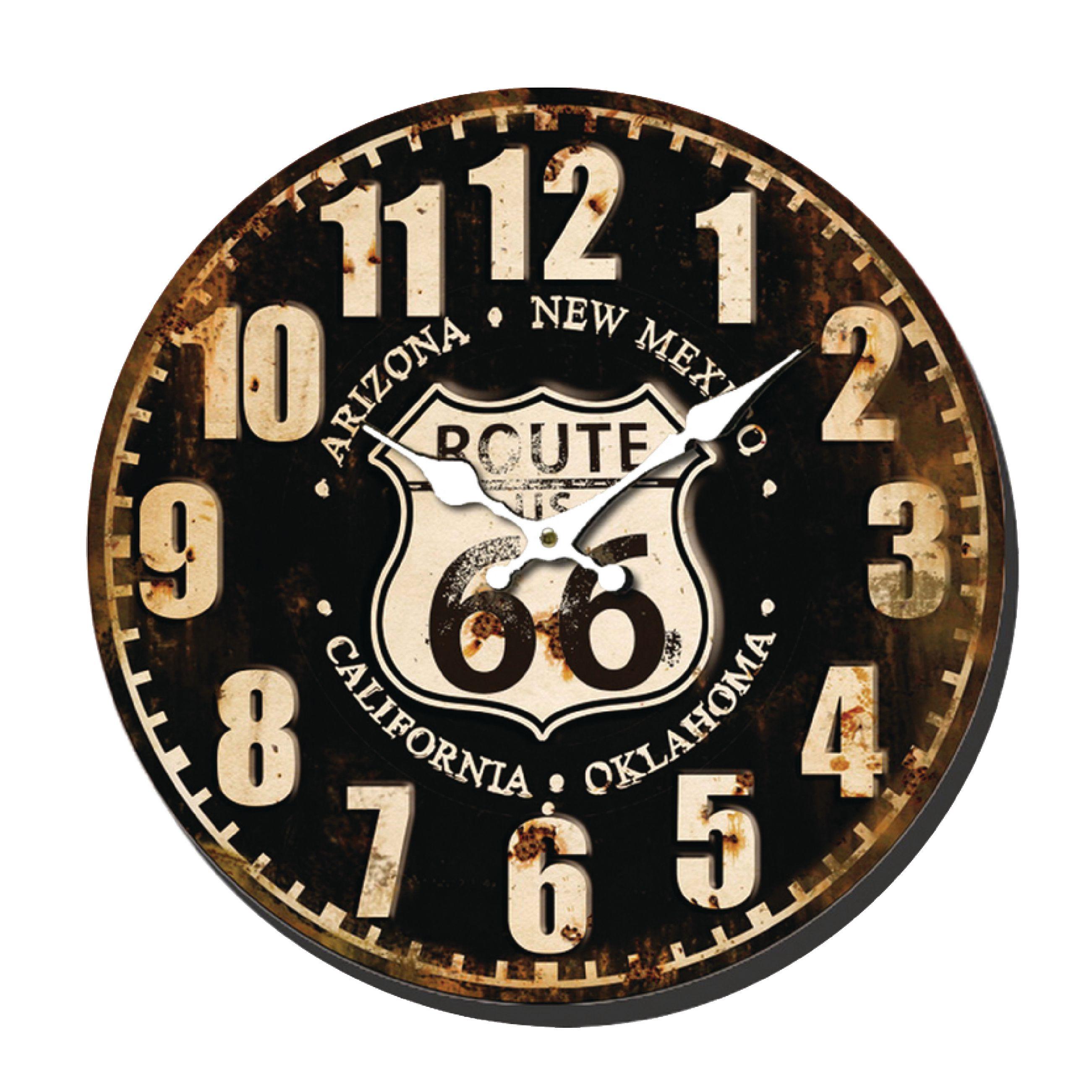 Retro analogové nástěnné hodiny 40 cm Balance 596161