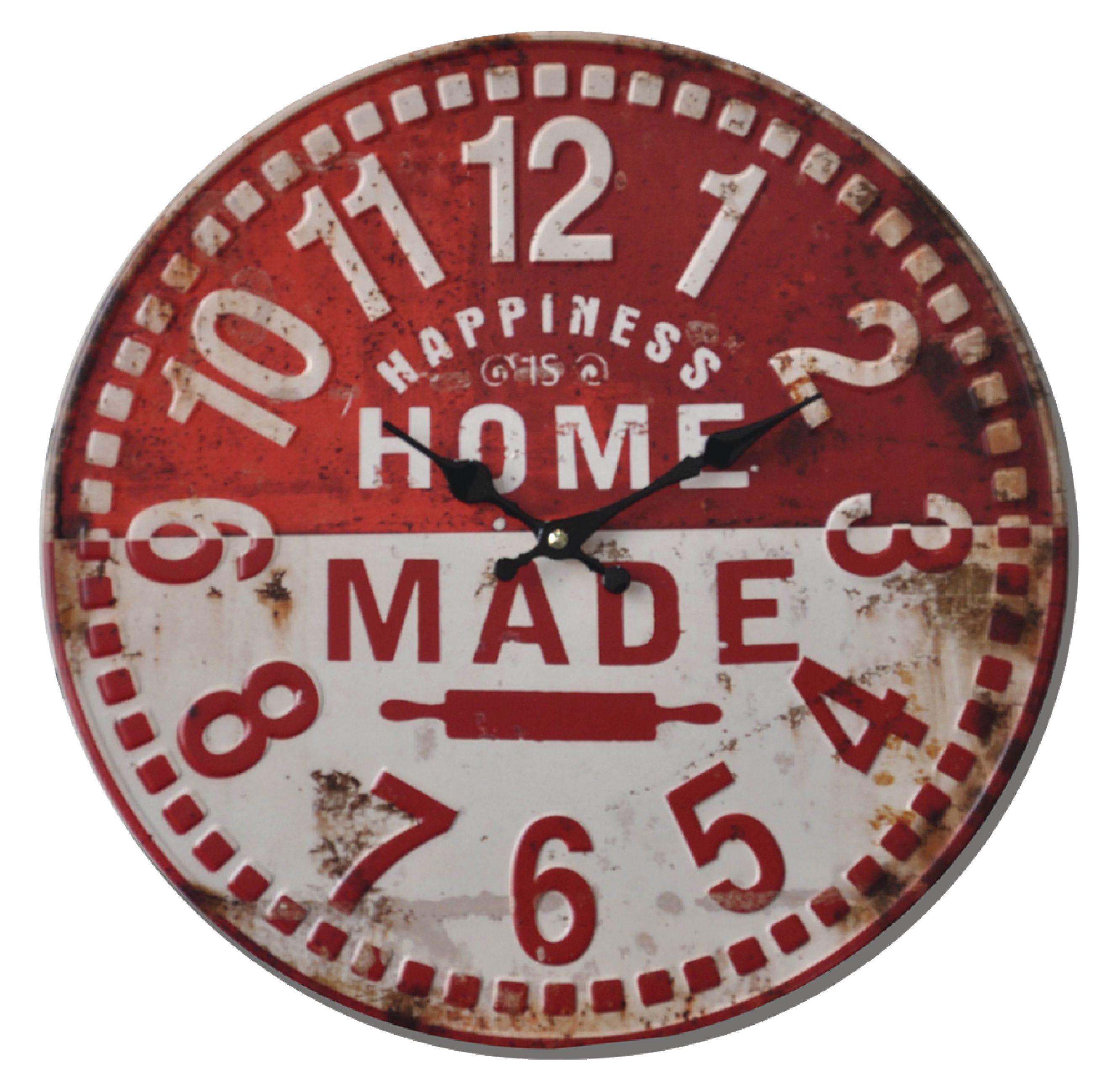 Retro analogové nástěnné hodiny 40 cm Balance 596254