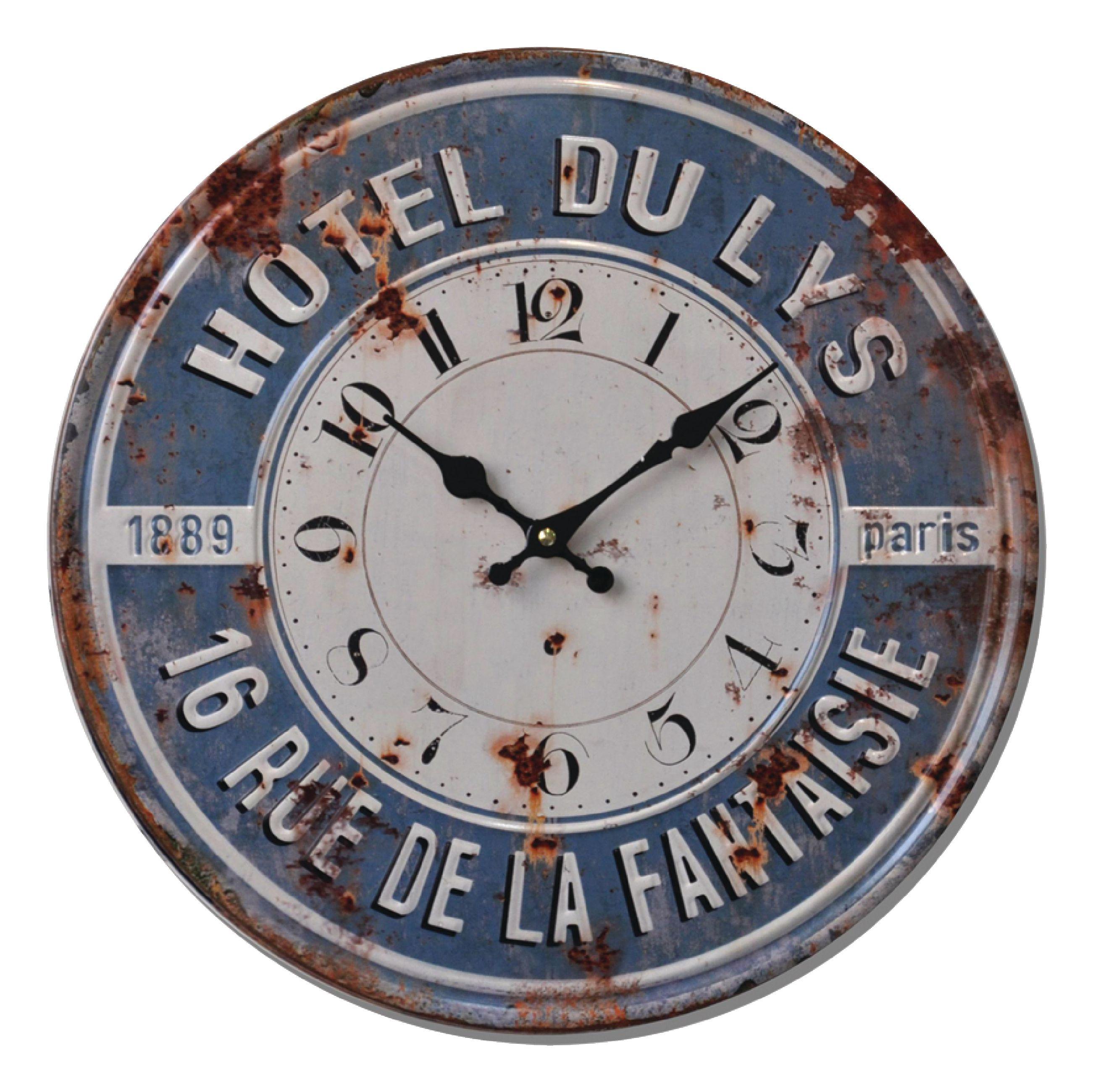 Retro analogové nástěnné hodiny 40 cm Balance 596981