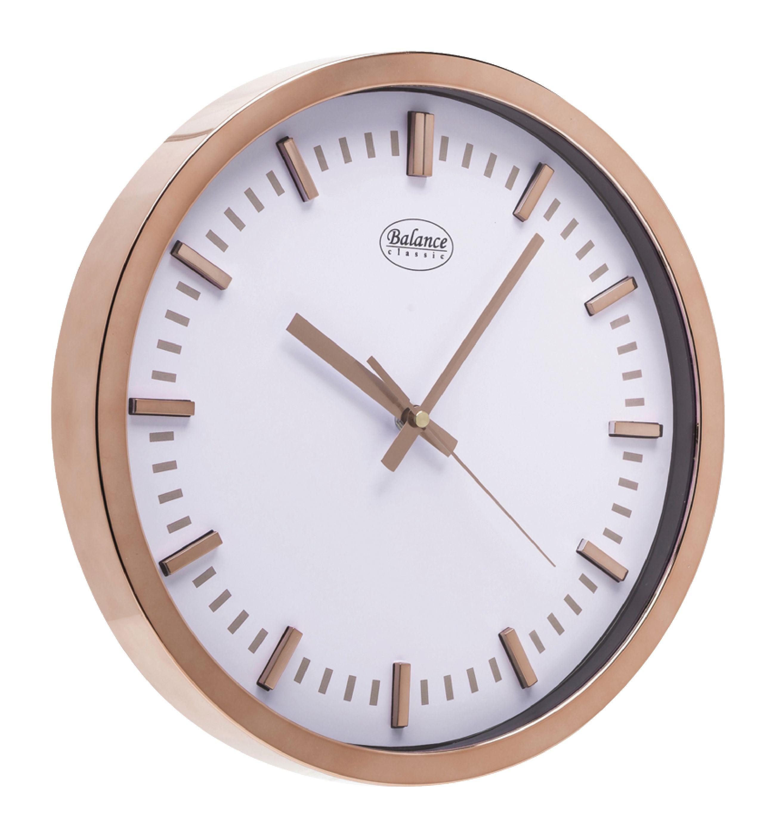 Analogové nástěnné hodiny 30 cm Balance 776029
