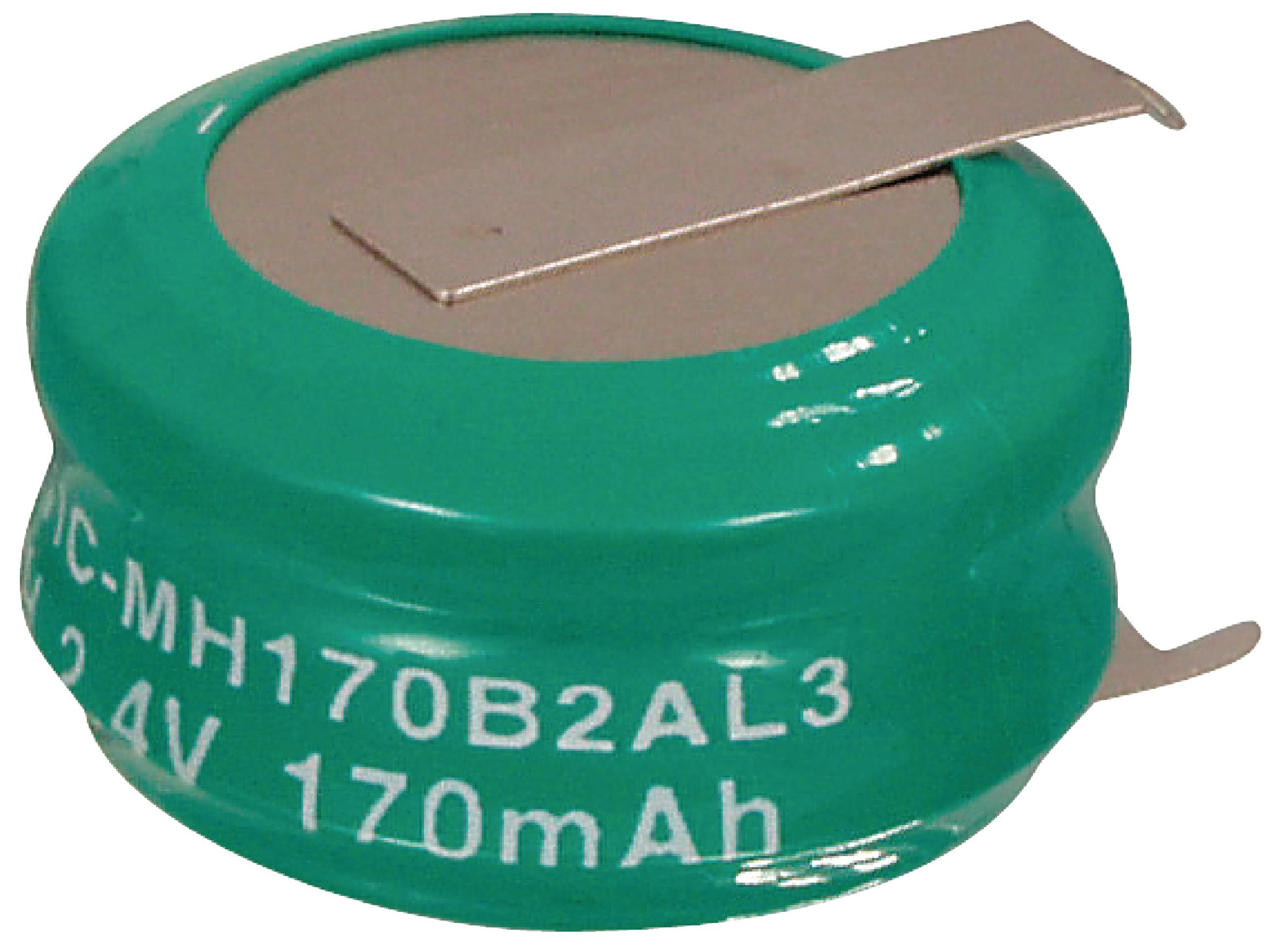 Akumulátor NiMH 2.4V/170mAh, NIMH-170/2