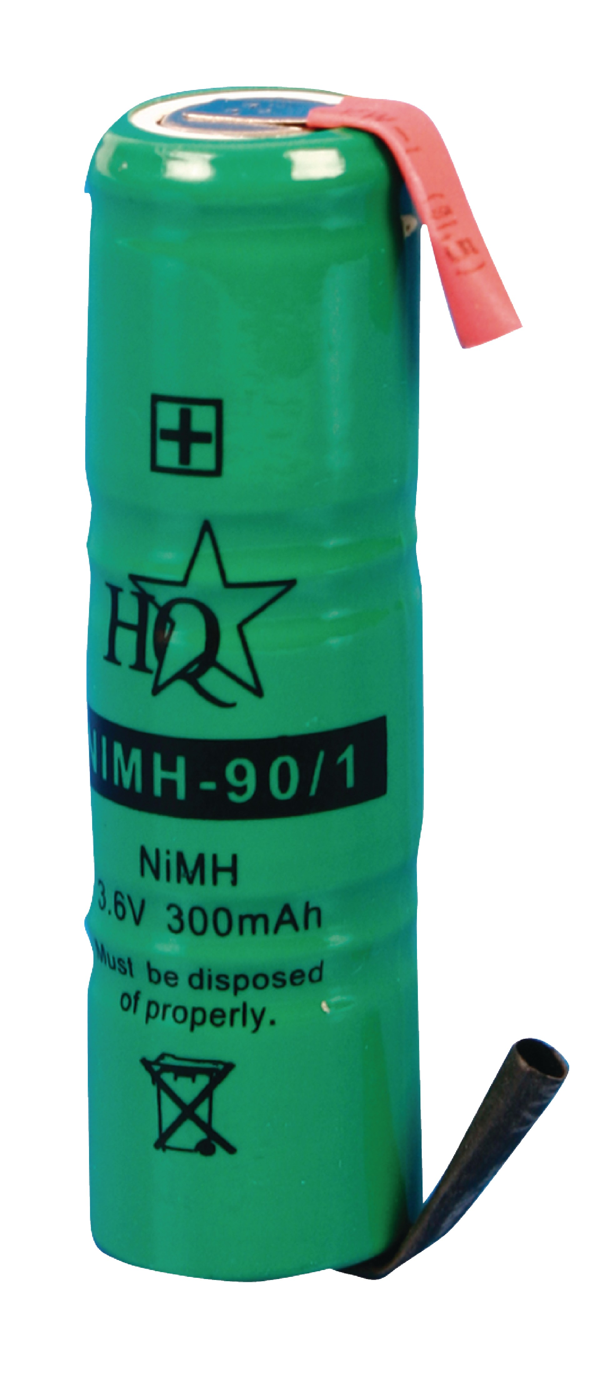Akumulátor NiMH 3.6V/300mAh, NIMH-90/1