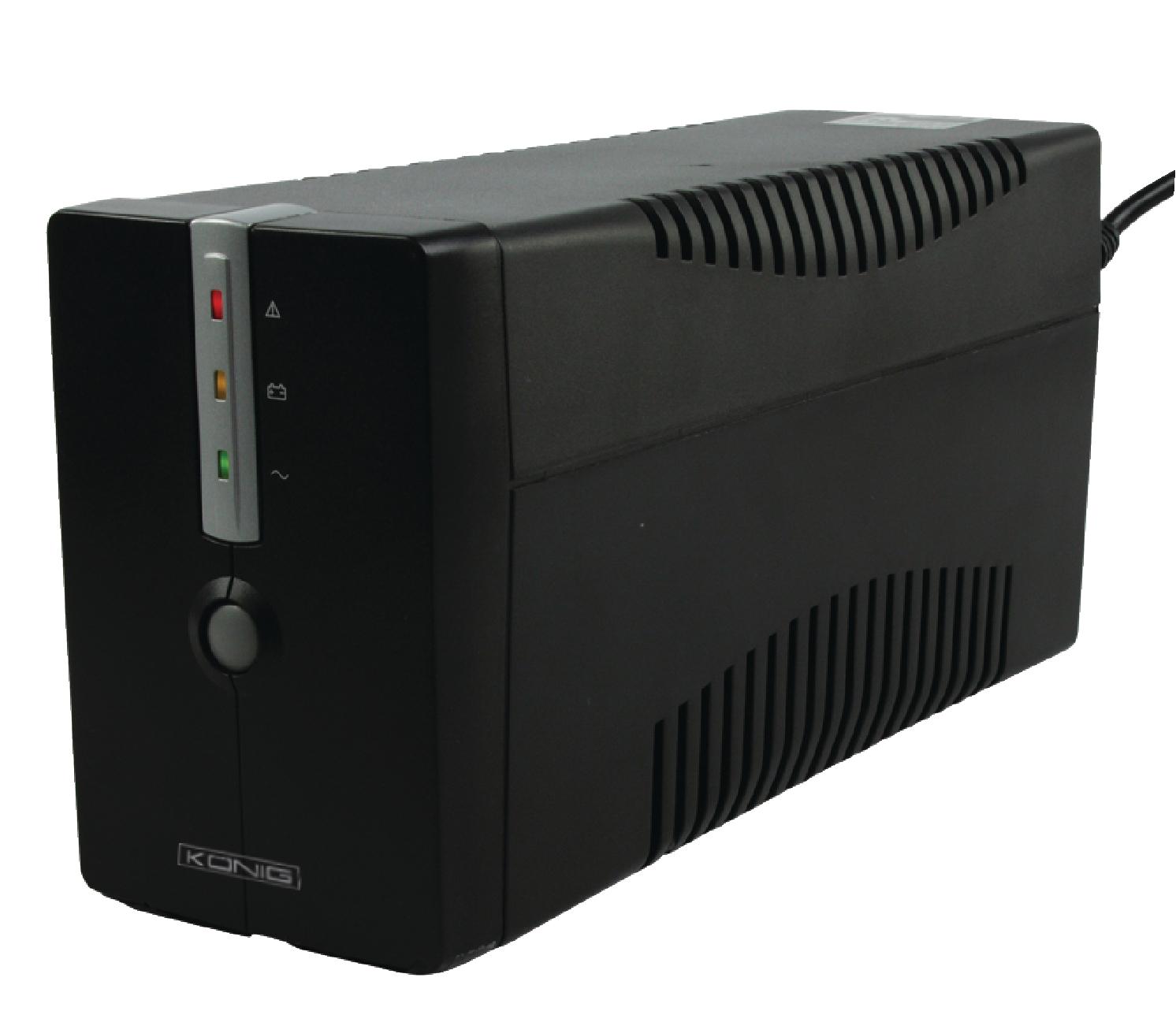 König záložní zdroj UPS 650 VA 360 W, CMP-UPS650VAL