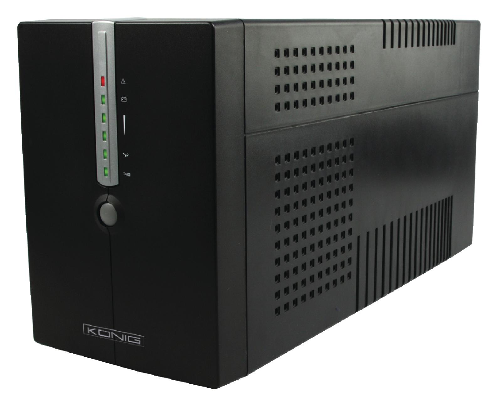König záložní zdroj UPS 2000 VA 1600 W, CMP-UPS2000VAL
