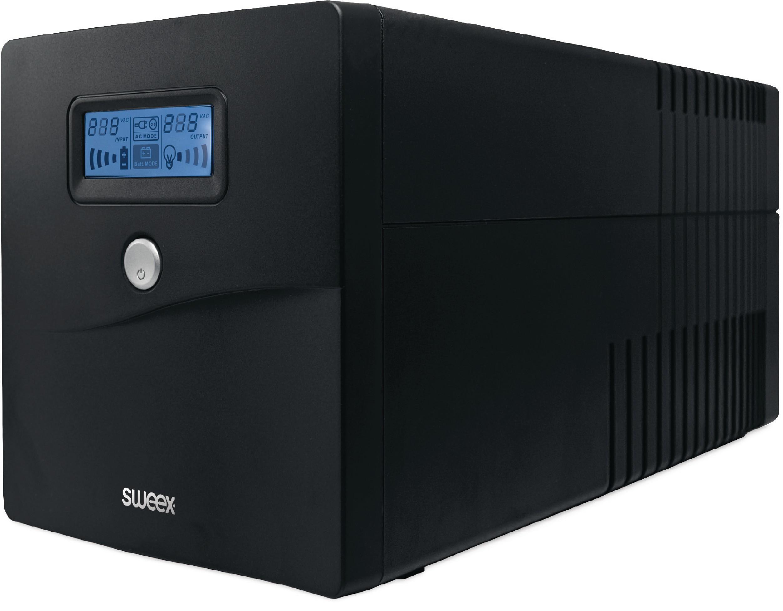 Sweex záložní zdroj UPS 1000 VA 600 W, PP210
