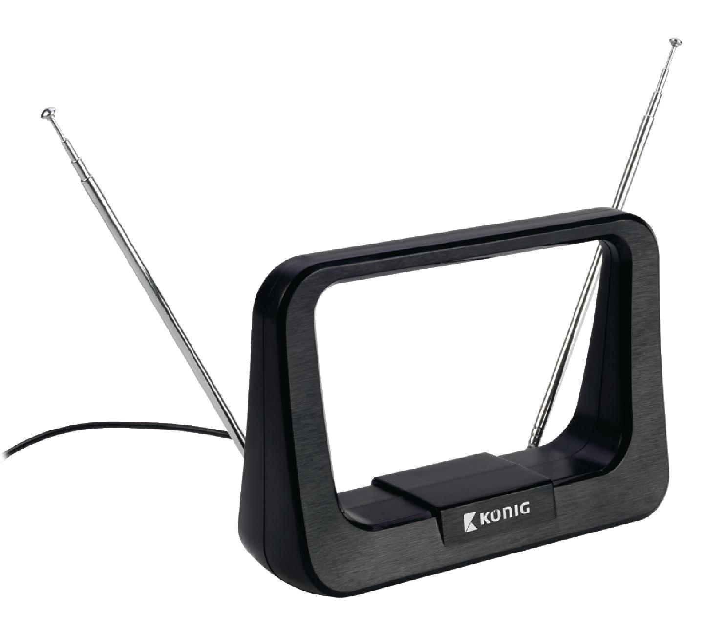 König ANT 116-KN vnitřní DVB-T/T2-DAB+ anténa 7 dB FM/VHF/UHF