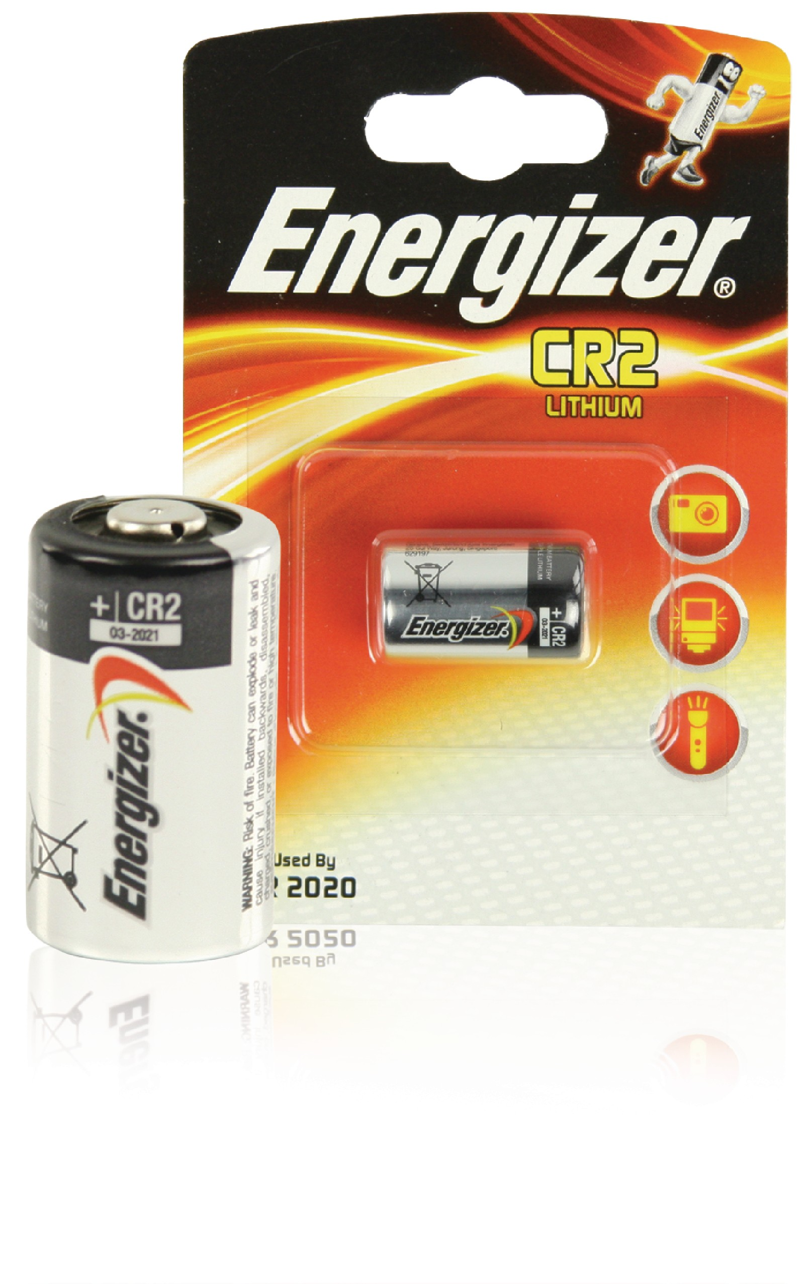 Lithiová baterie Energizer CR2 3 V, 1ks, ENCR2P1