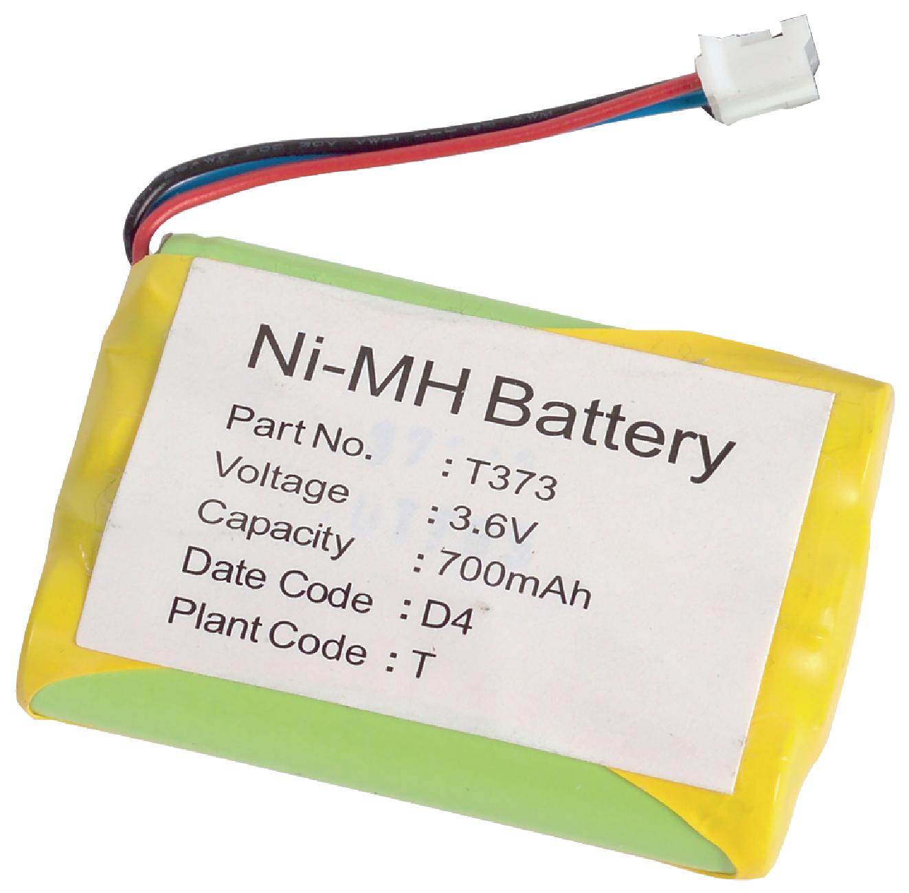Akumulátor NiMH 3.6V/700mAh, ACCU-T373