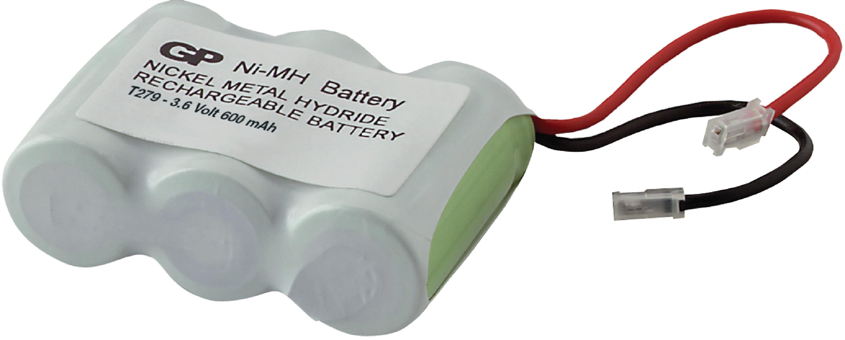 Akumulátor NiMH 3.6V/600mAh, ACCU-T279