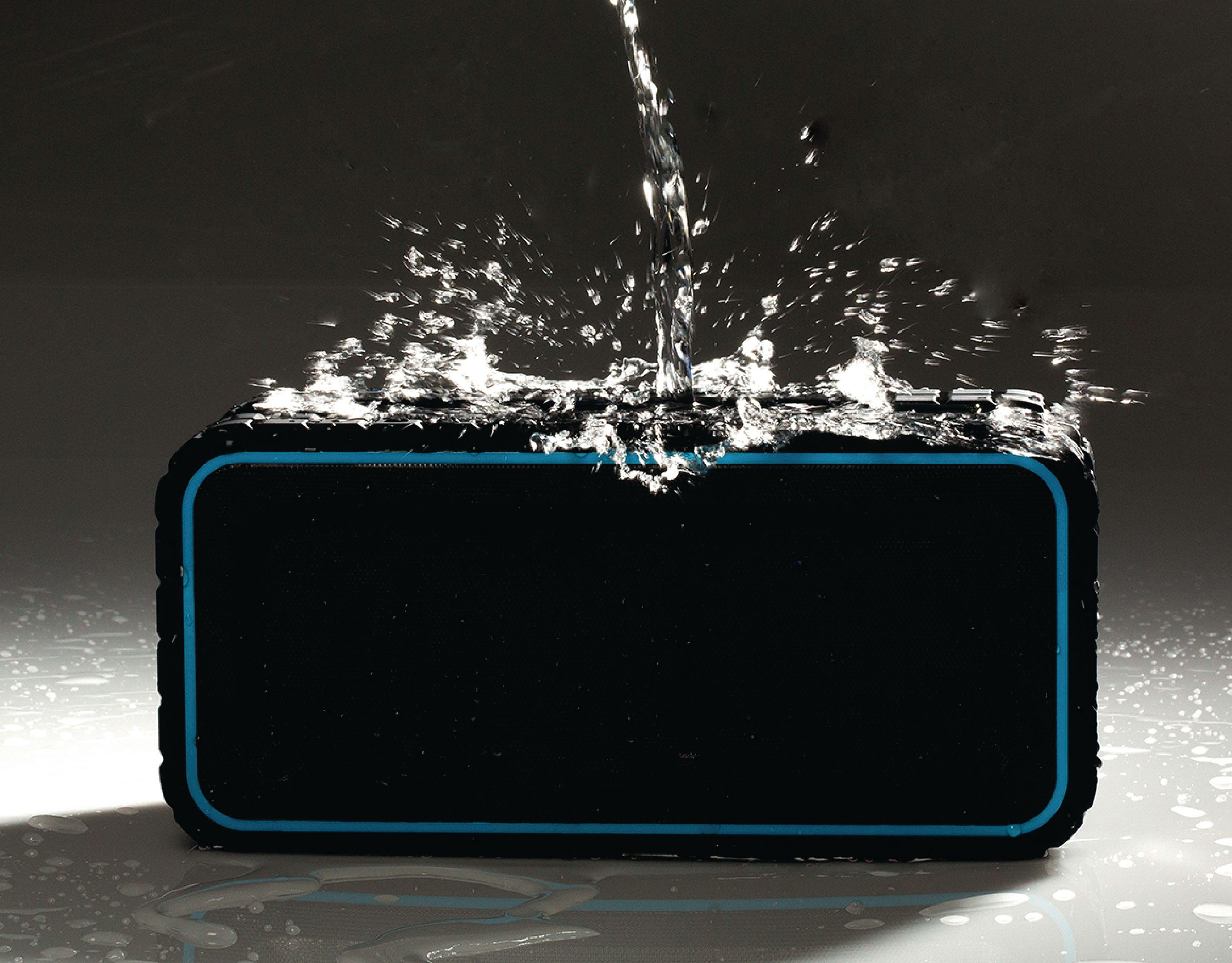 Sweex Explorer voděodolný Bluetooth reproduktor 12 W, NFC, 4400mAh, AVSP5200-07
