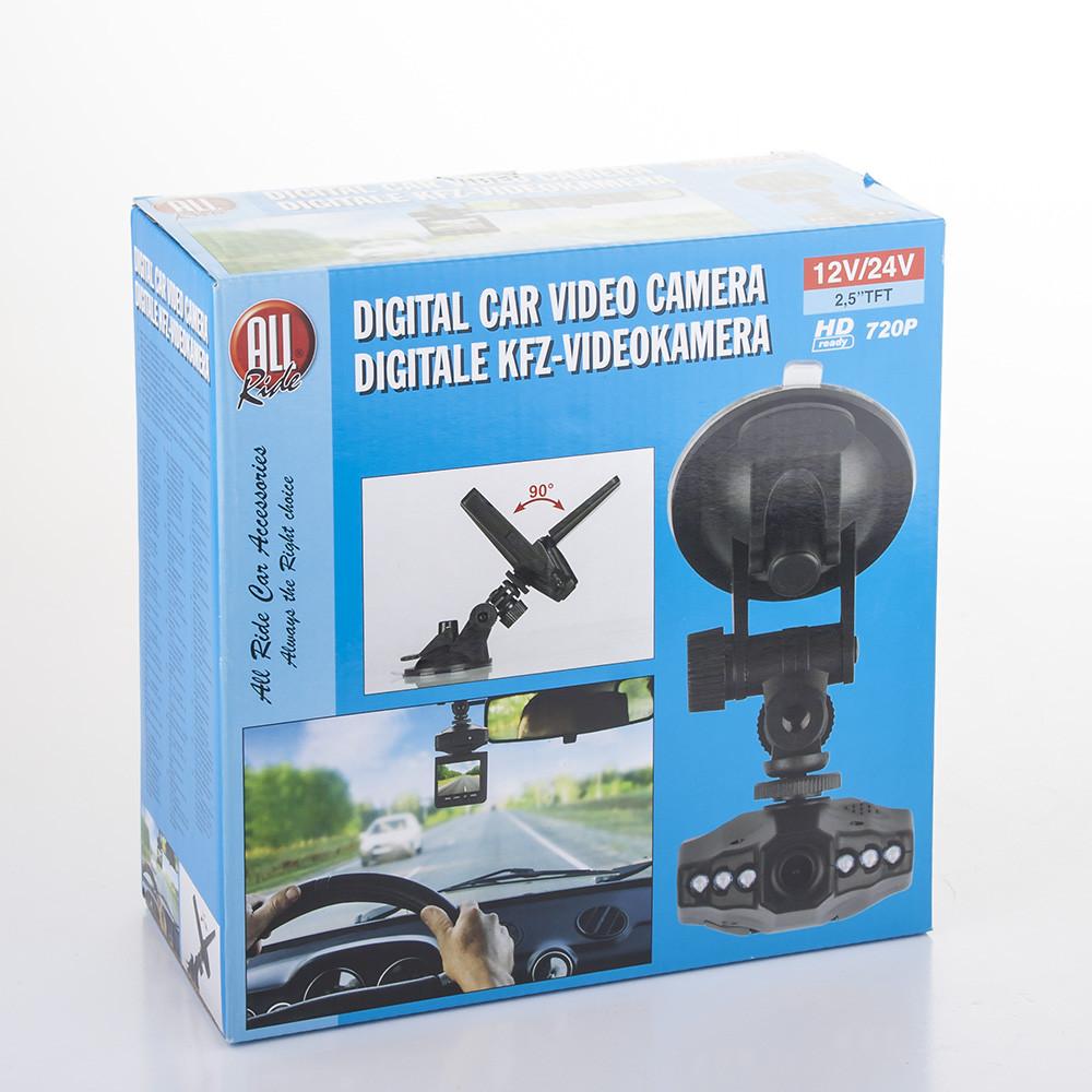 """ALL RIDE 53419 digitální záznamová kamera do auta s 2.5"""" displejem"""