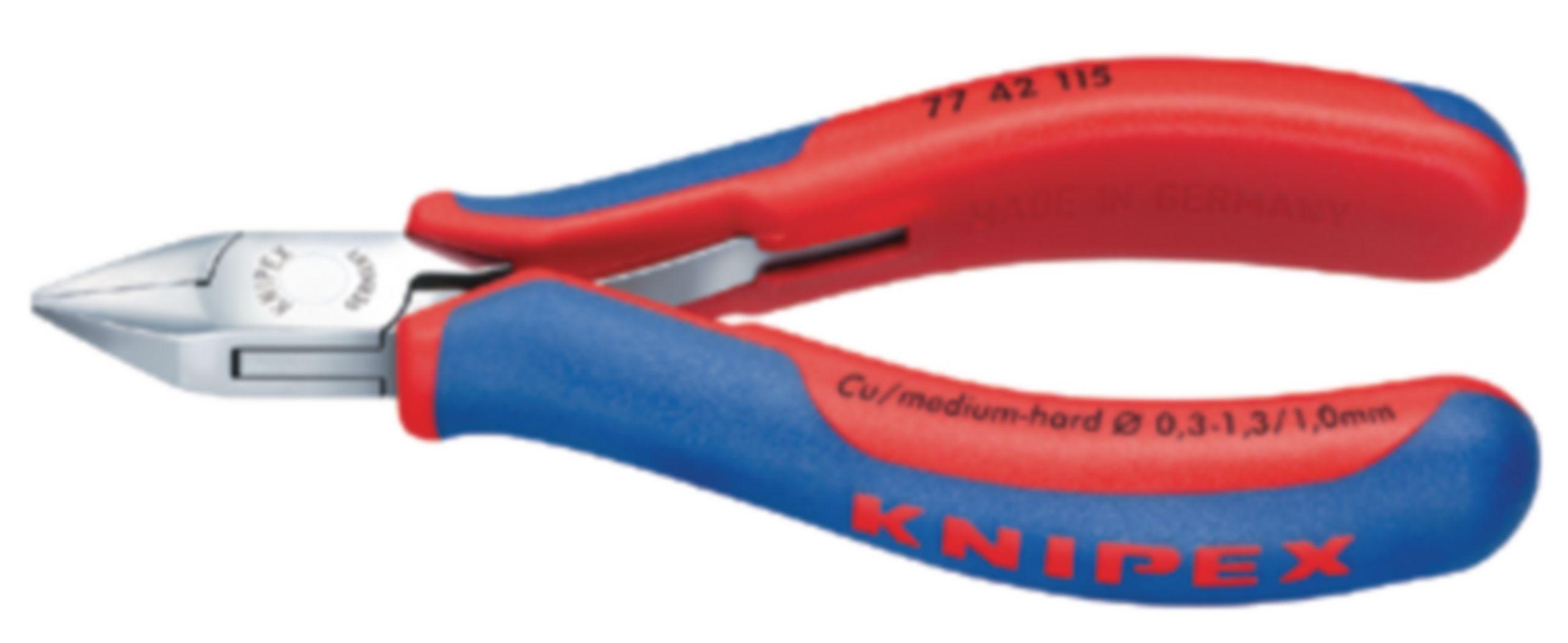 Boční štípací kleště 115 mm s pružinkou Knipex 77 42 115