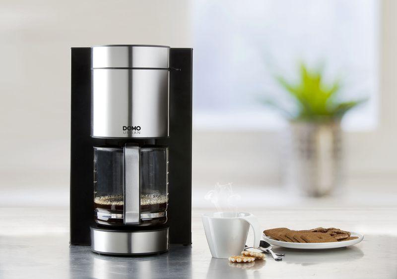 Stylový kávovar - DOMO DO704K, design URBAN