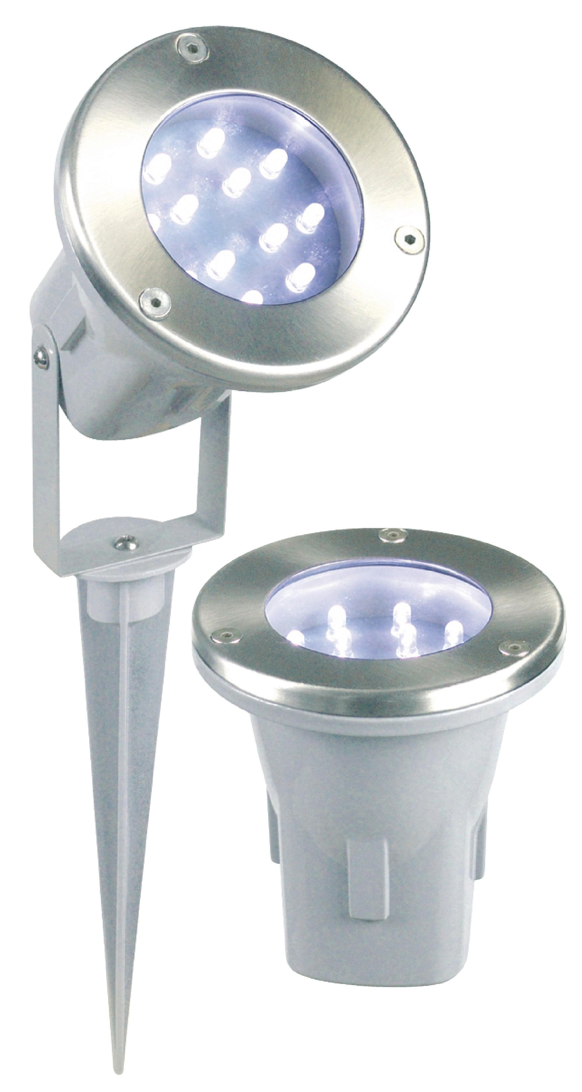 Venkovní LED reflektor spot 3ks s napájecím adaptérem Ranex Todi RA-5000158