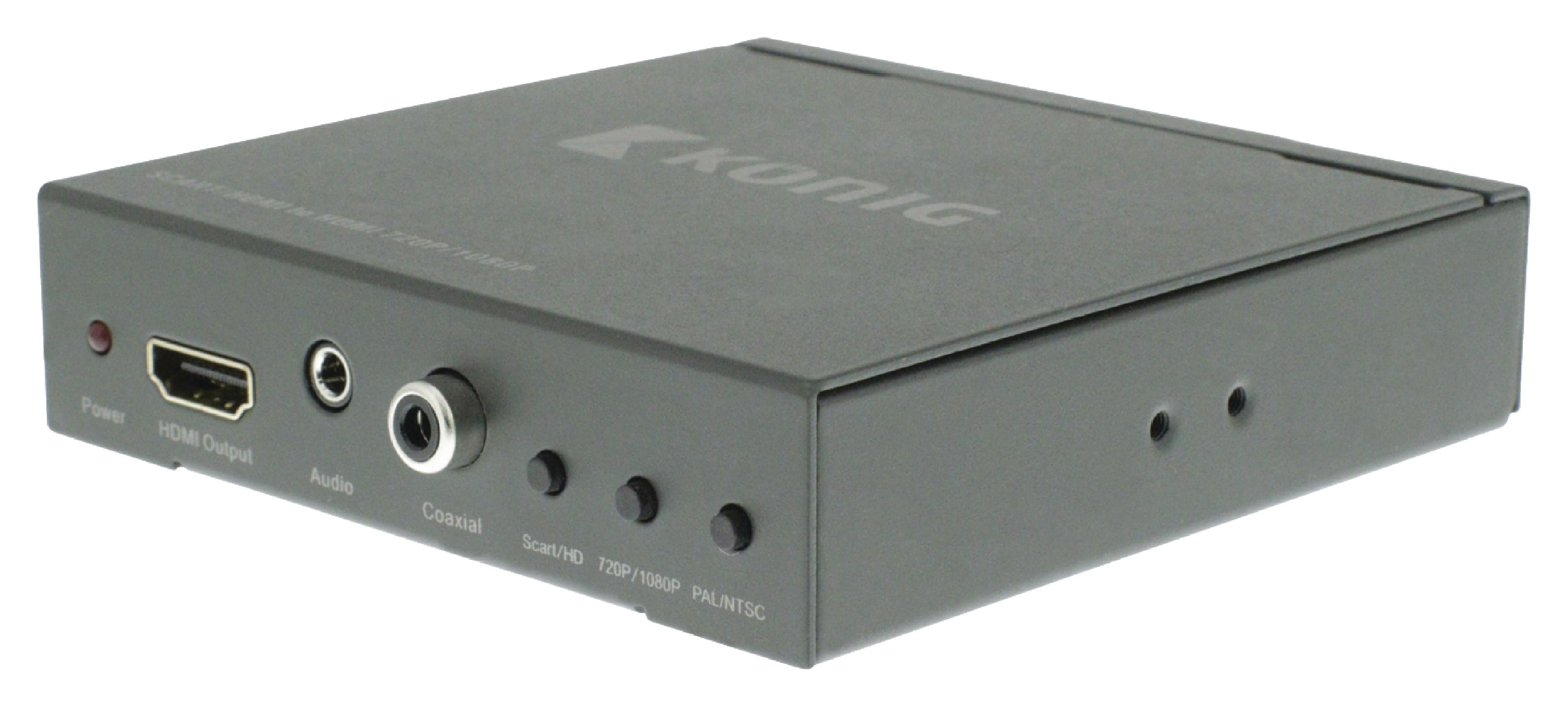 HDMI převodník SCART na HDMI, Full HD 1920x1080