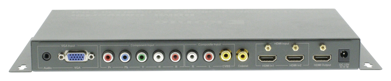 HDMI 4K2K přepínač 5 vstupů na 1 výstup