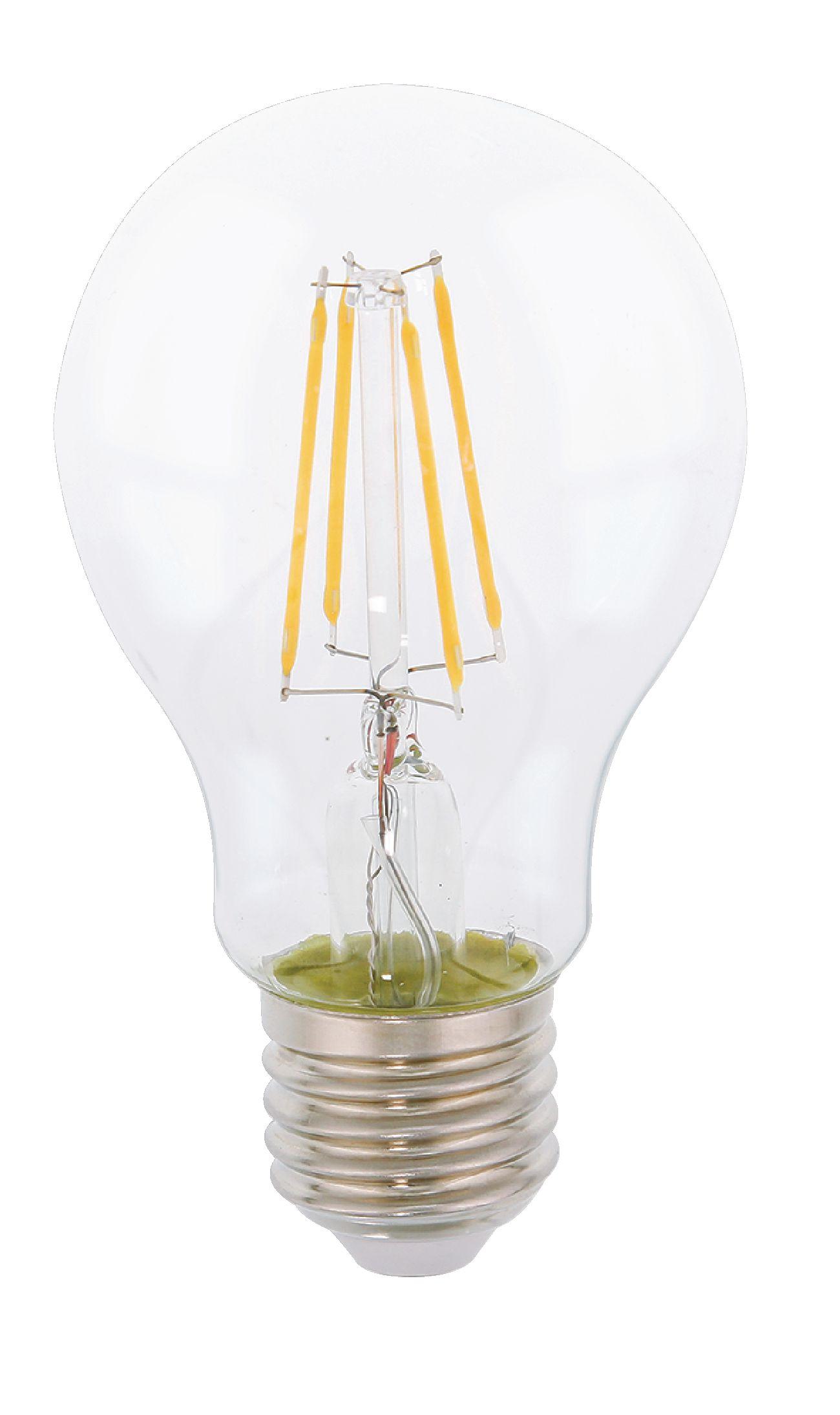 HQ LED žárovka vláknová E27 7W 806lm 2700K (HQLFE27A60002)