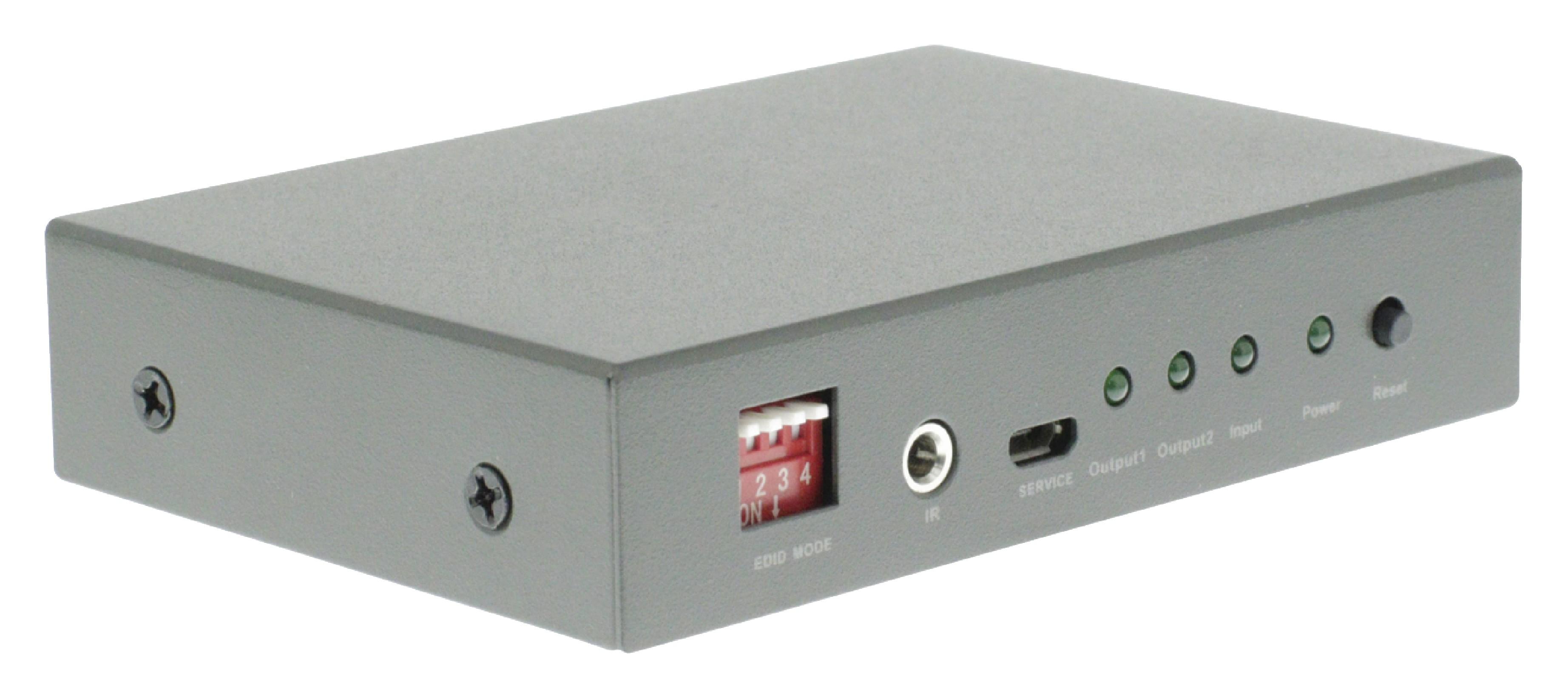 HDMI 4K2K rozbočovač 1 vstup na 2 výstupy König KNVSP3402