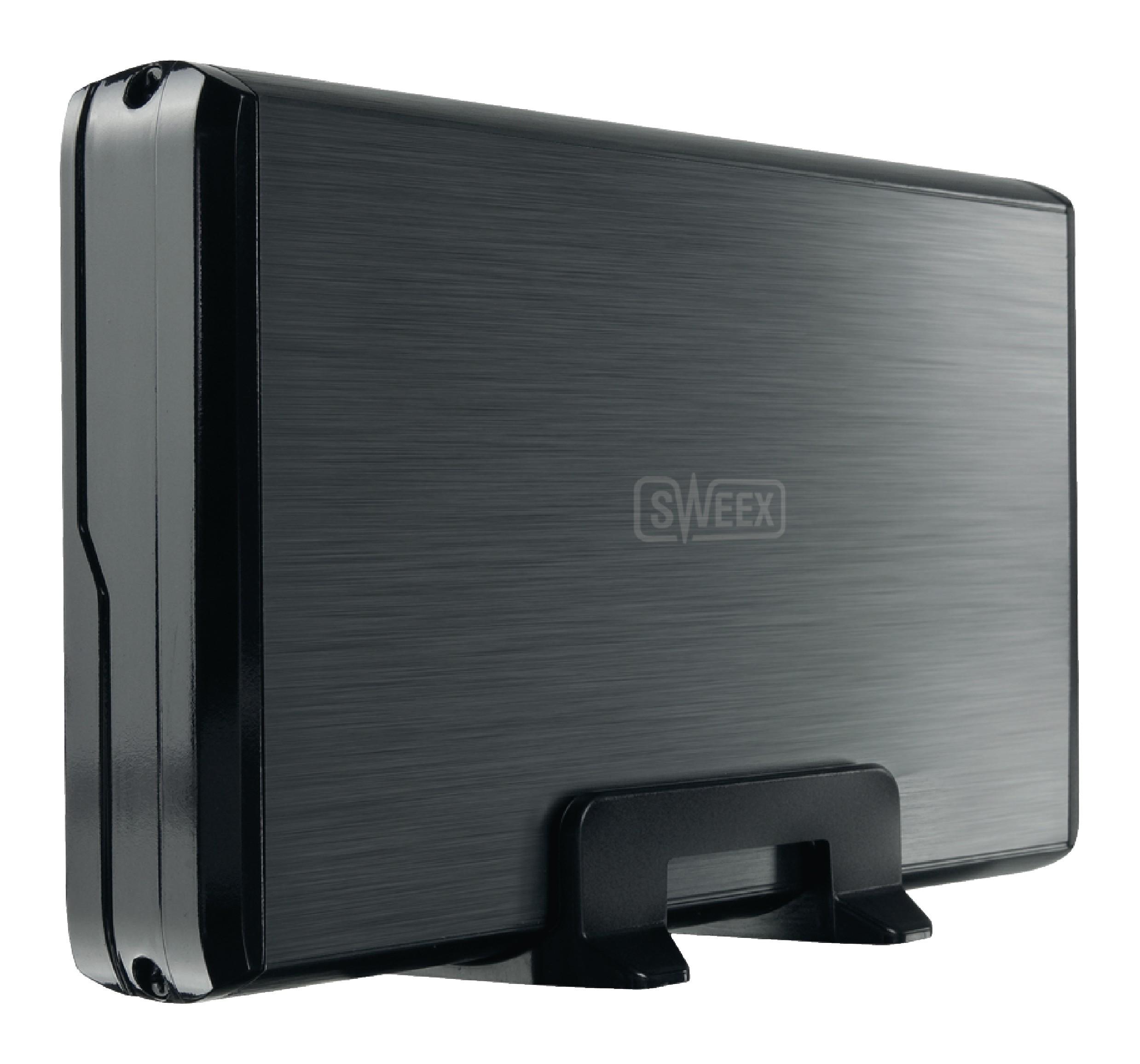 "Externí box Sweex pro pevný disk 3.5"" SATA USB 2.0, ST032"