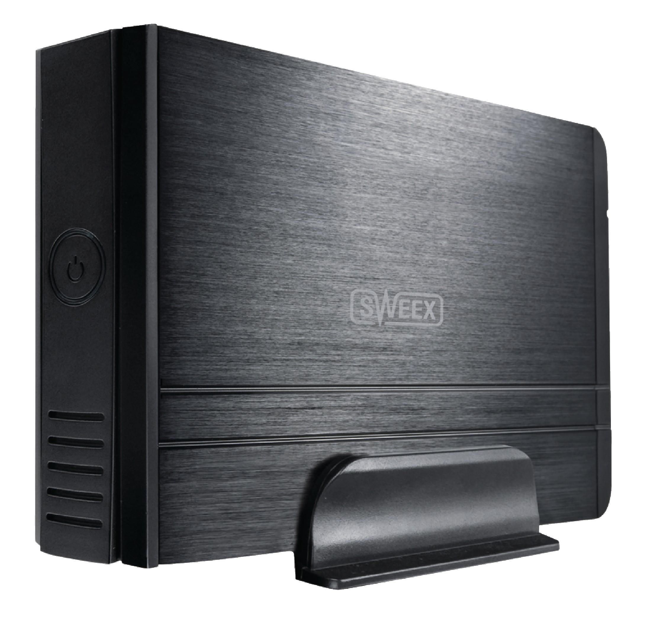 "Externí box Sweex pro pevný disk 3.5"" SATA USB 3.0, ST070"