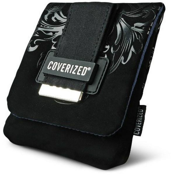 Coverized DECO brašna na GPS / digitální fotoaparát, černá