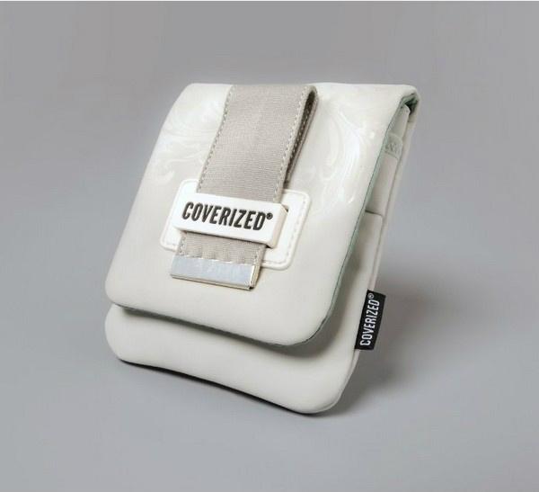 Coverized DECO brašna na GPS / digitální fotoaparáty, šedá
