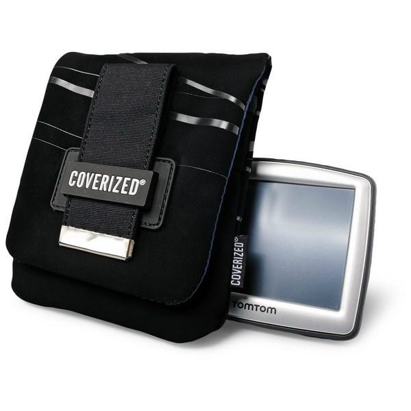 Coverized WAVE brašna na GPS / digitální fotoaparát, černá