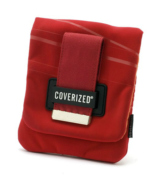 Coverized WAVE brašna na GPS / digitální fotoaparát, červená