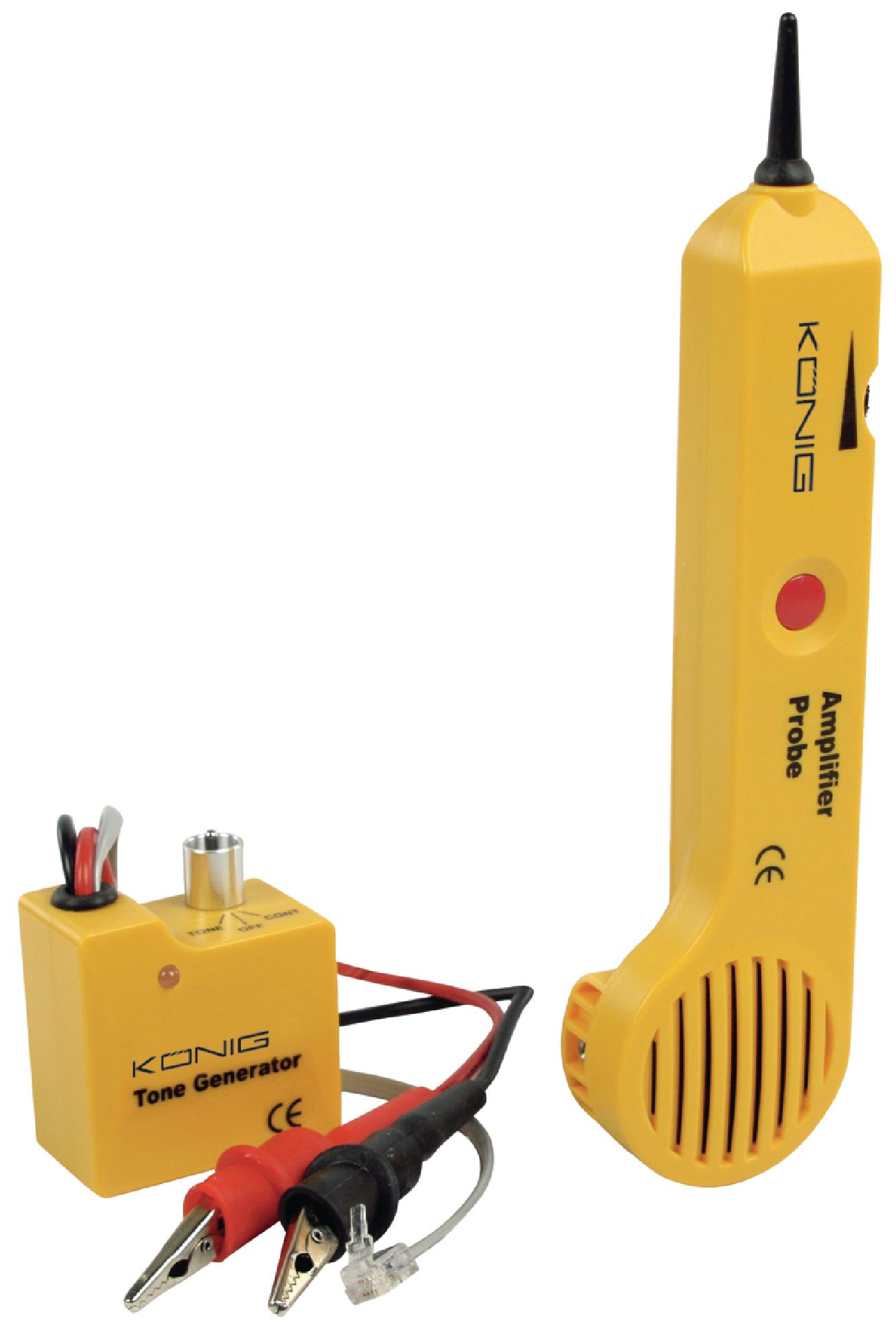 Tester kabelů, tónový generátor König CMP-RCT11