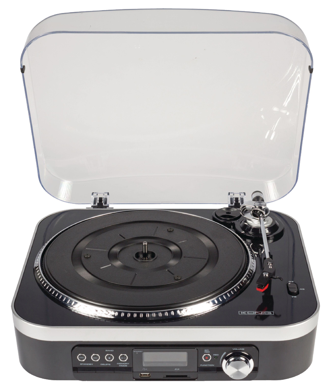 König HAV-TT25 USB gramofon SD / LP / rádio