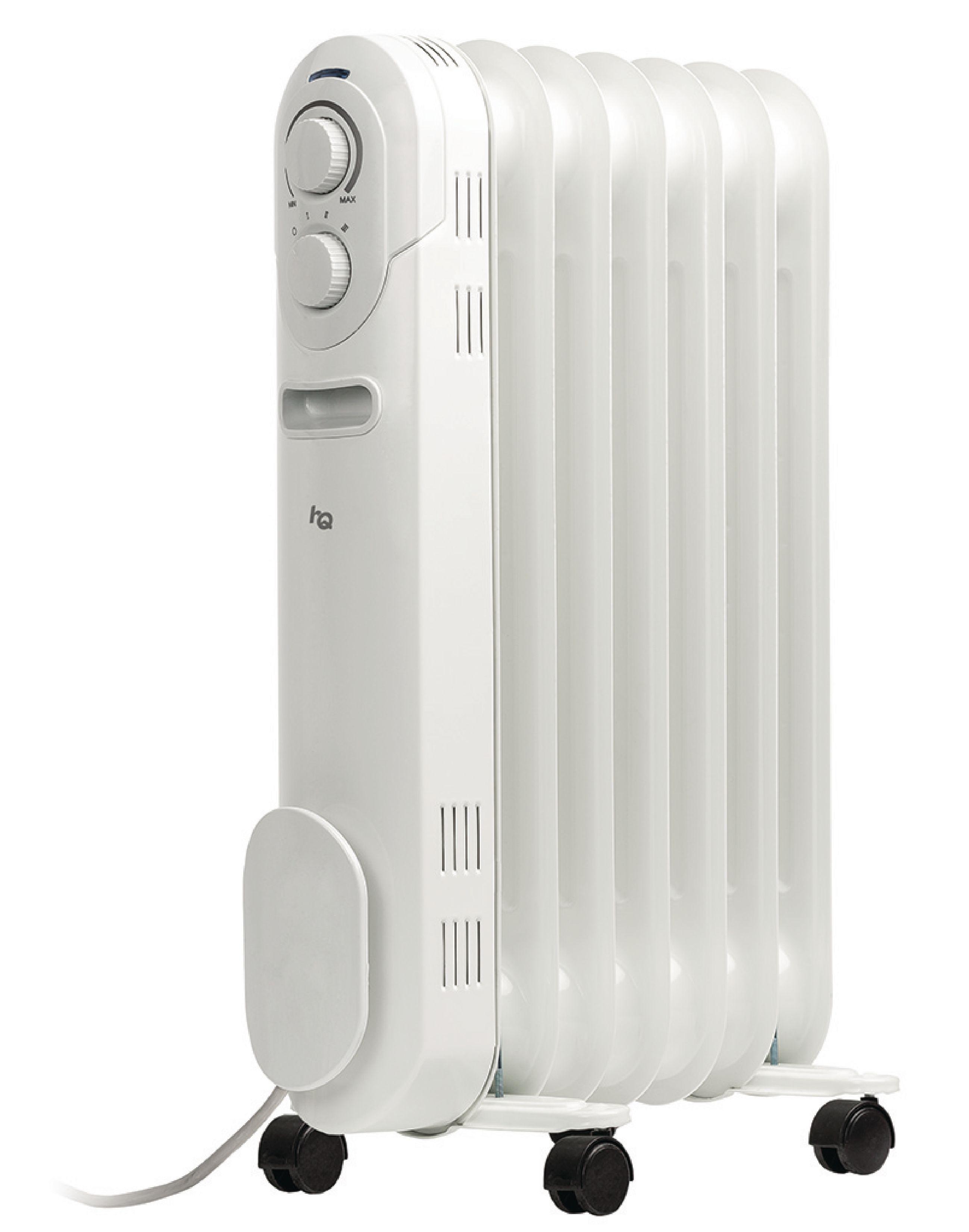 HQ přenosný olejový radiátor 1500 W 7 žeber HQ-OR07