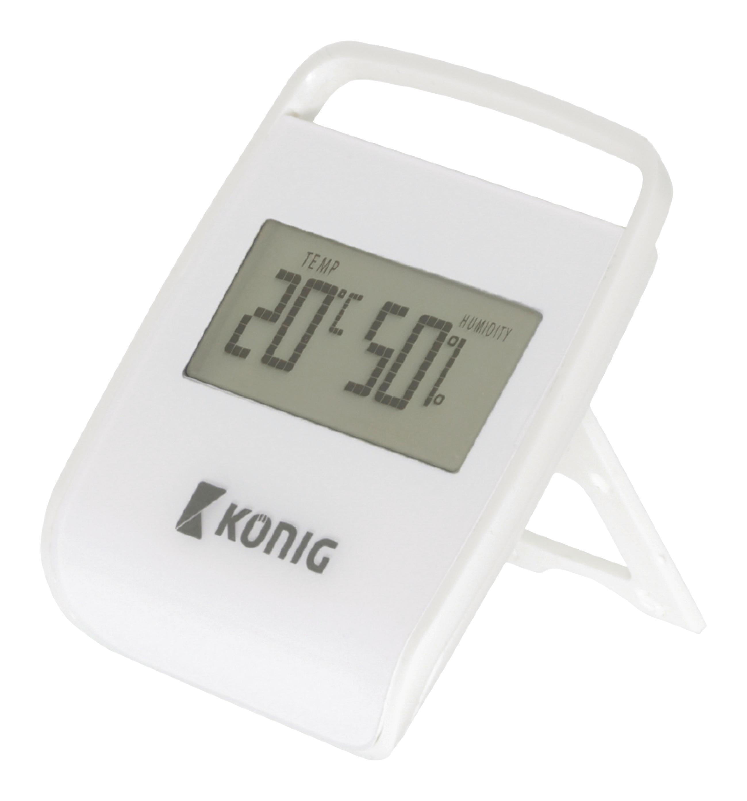 König mini digitální teploměr a vlhkoměr KN-DTH10