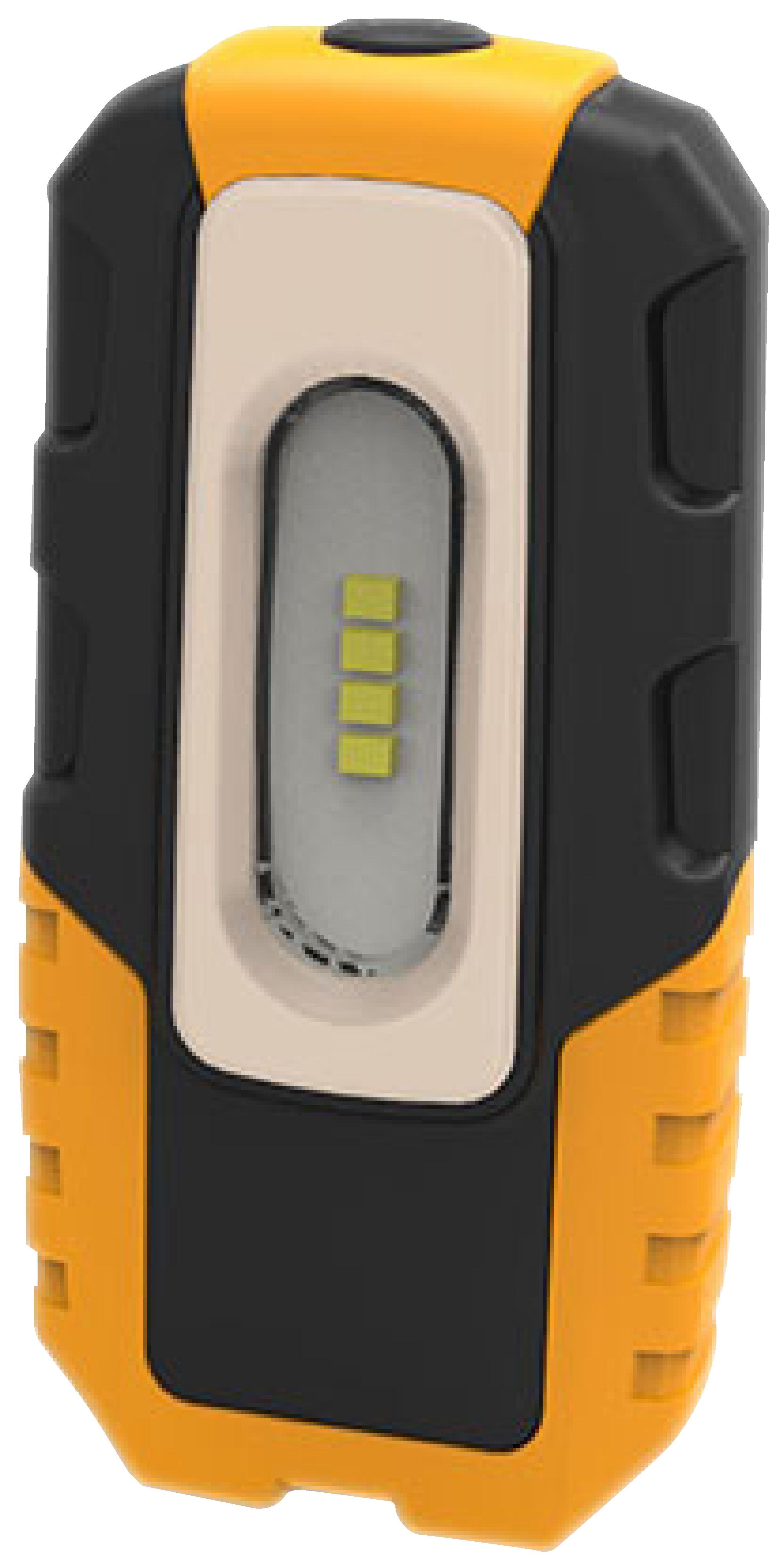 Brennenstuhl 1176440 4 LED akumulátorová ruční svítilna HL DA 40 MH 220lm, hák, magnet, klip