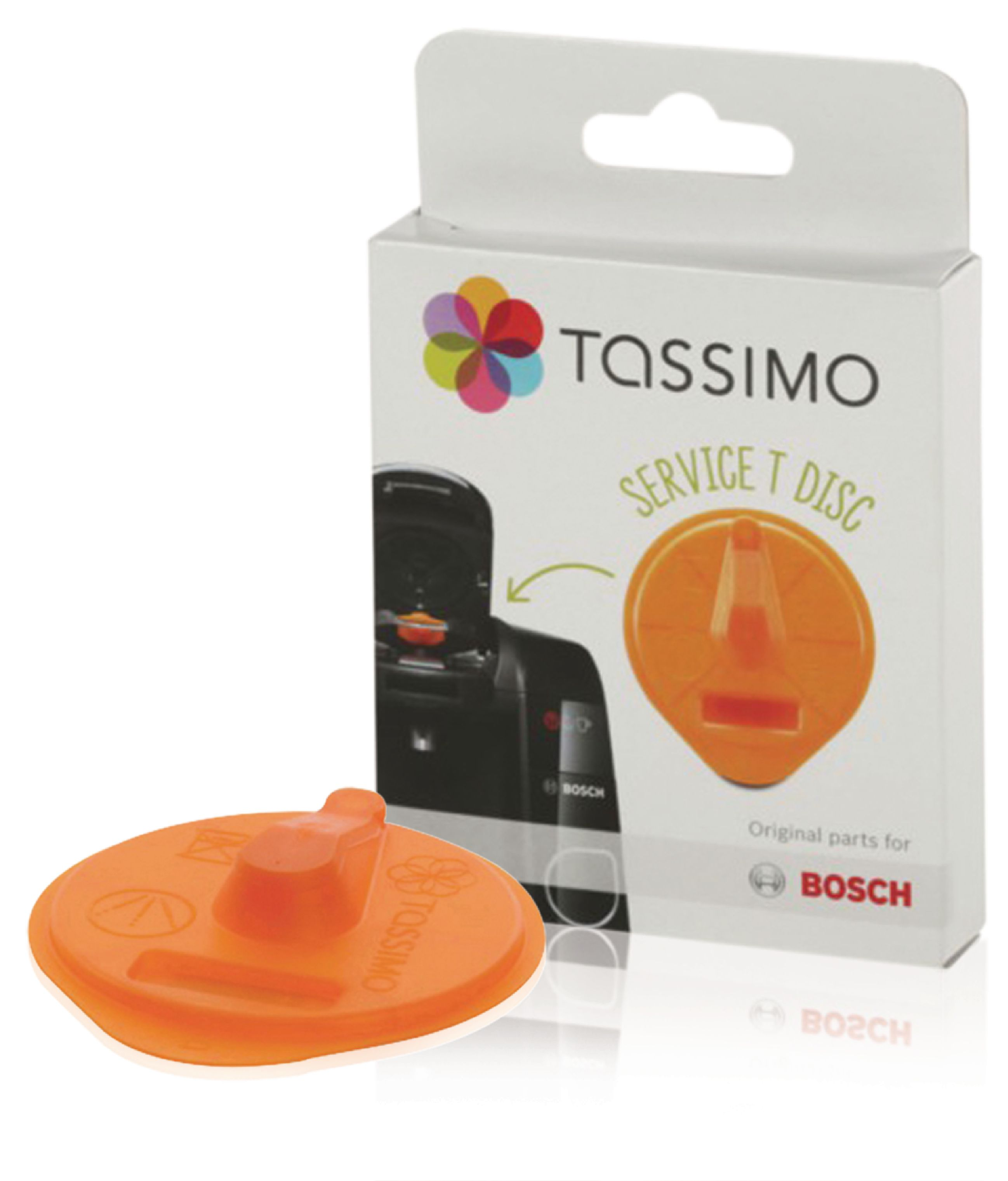 Servisní T-Disk pro kávovar Tassimo Bosh 576837