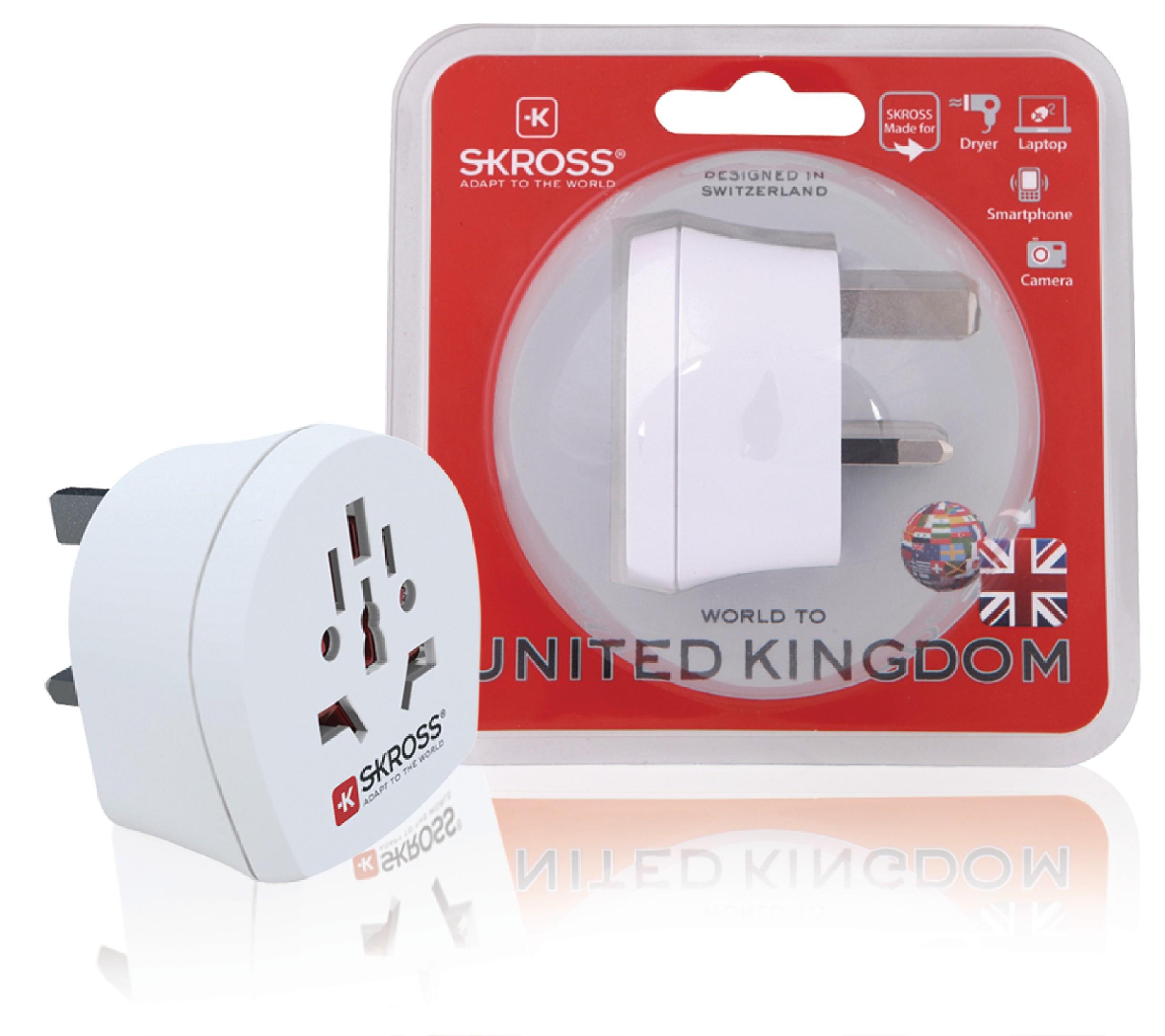 Cestovní adaptér svět - UK Skross SKR1500220