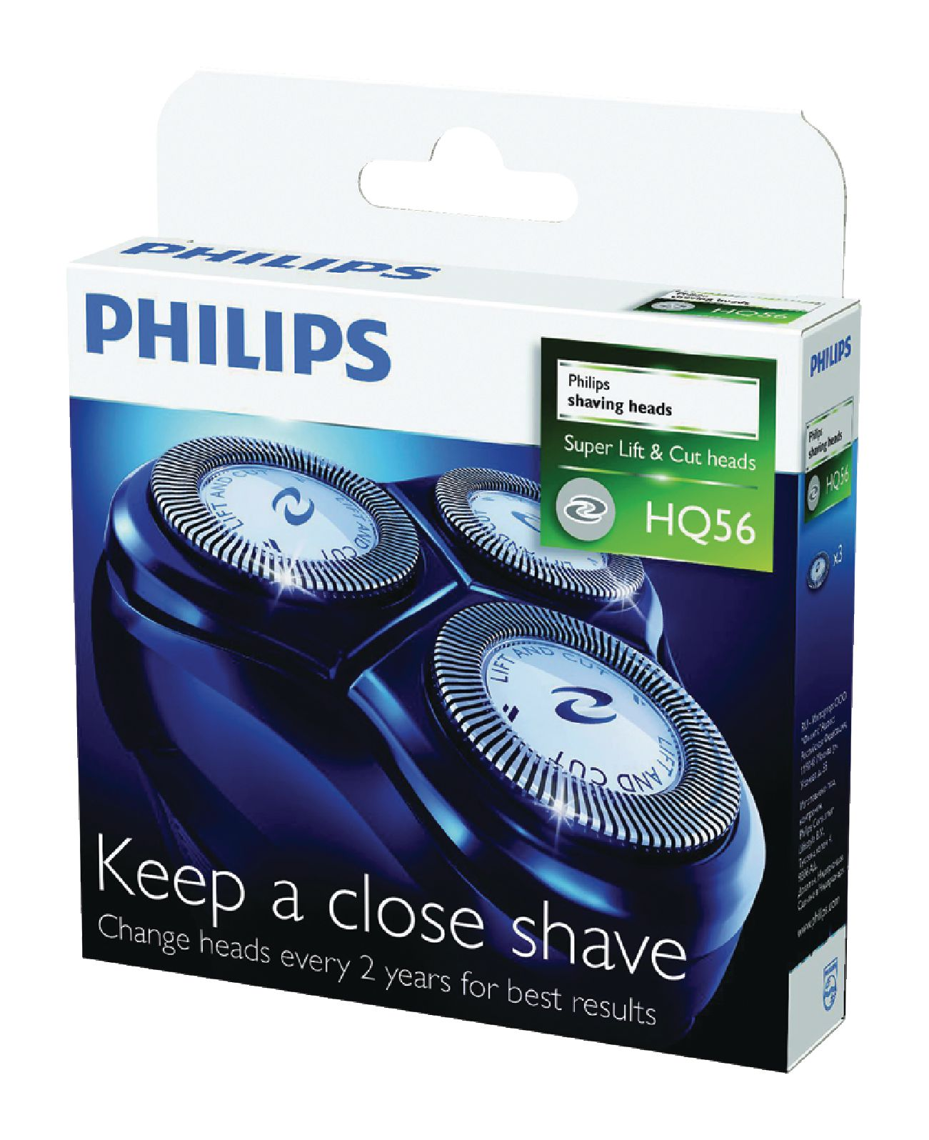 Holicí frézky Philips HQ56/50
