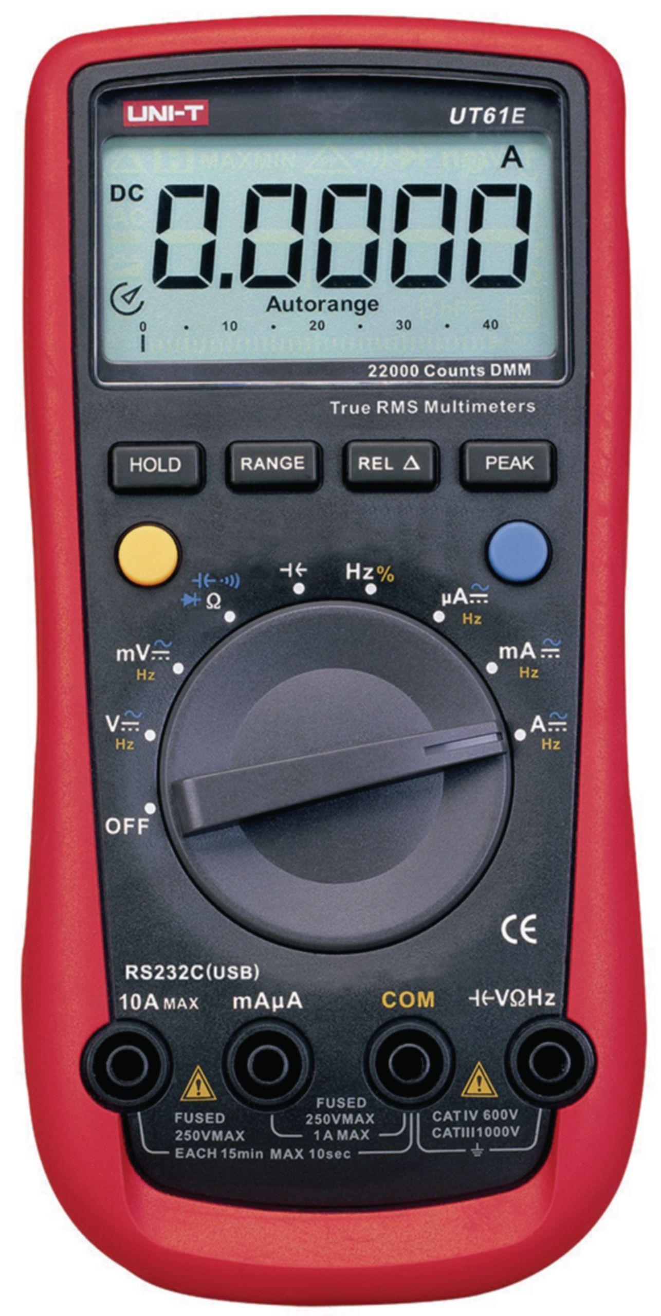 Digitální multimetr RC UNI-T UT61E