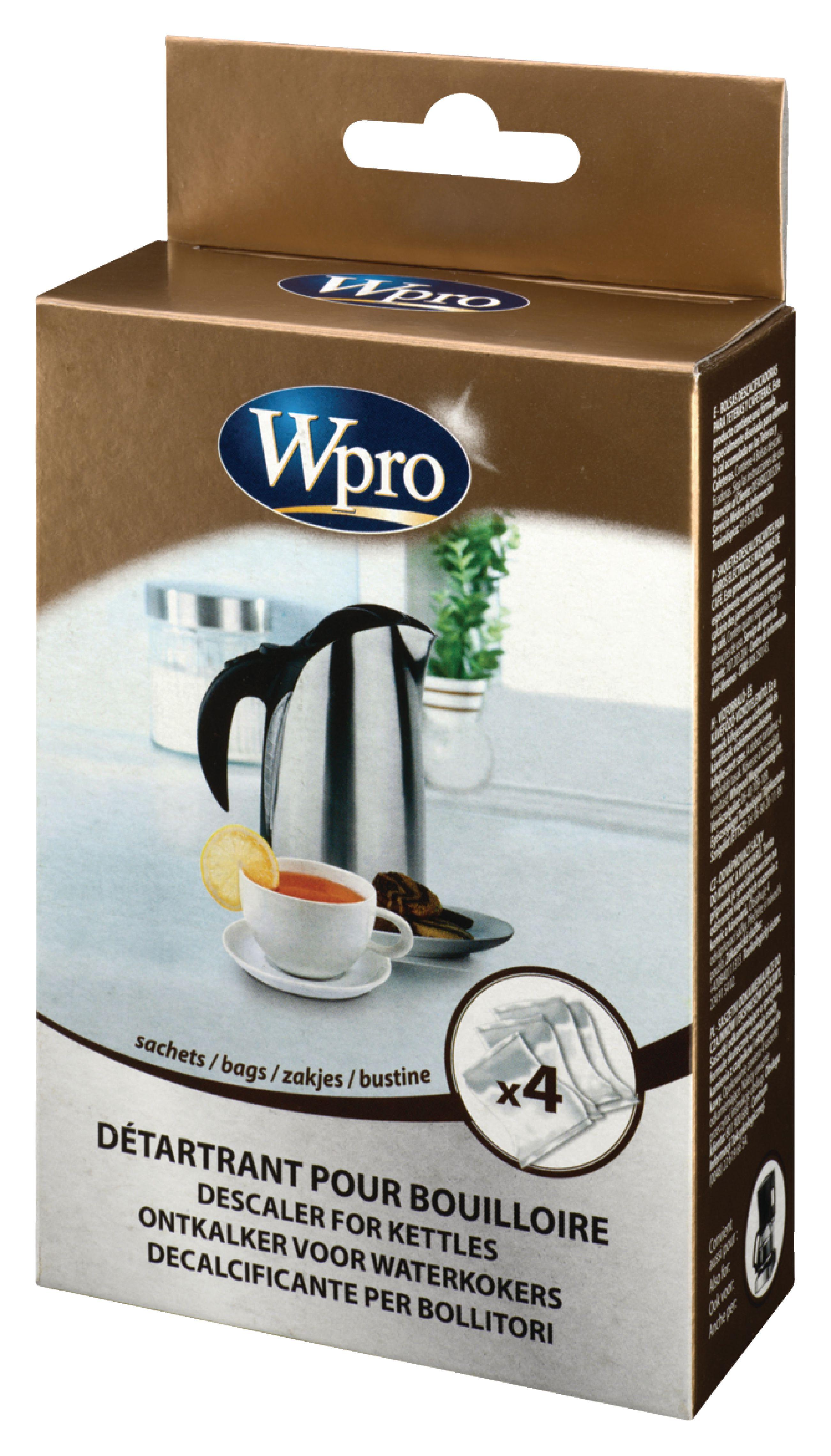 Odstraňovač vodního kamene pro rychlovarné konvice Wpro WKD004
