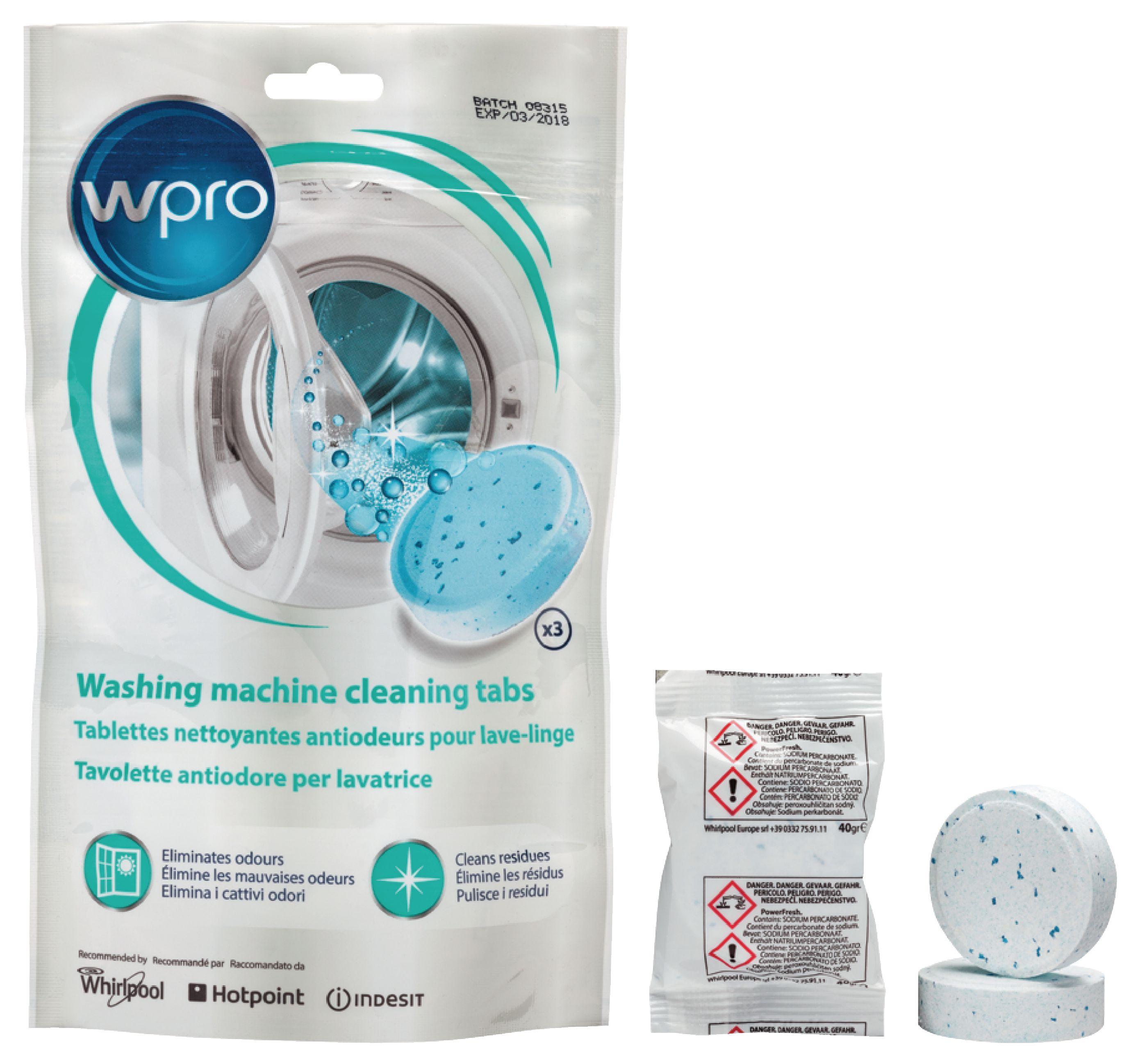 Čisticí tablety do pračky, 3 ks Whirpool 484000001180