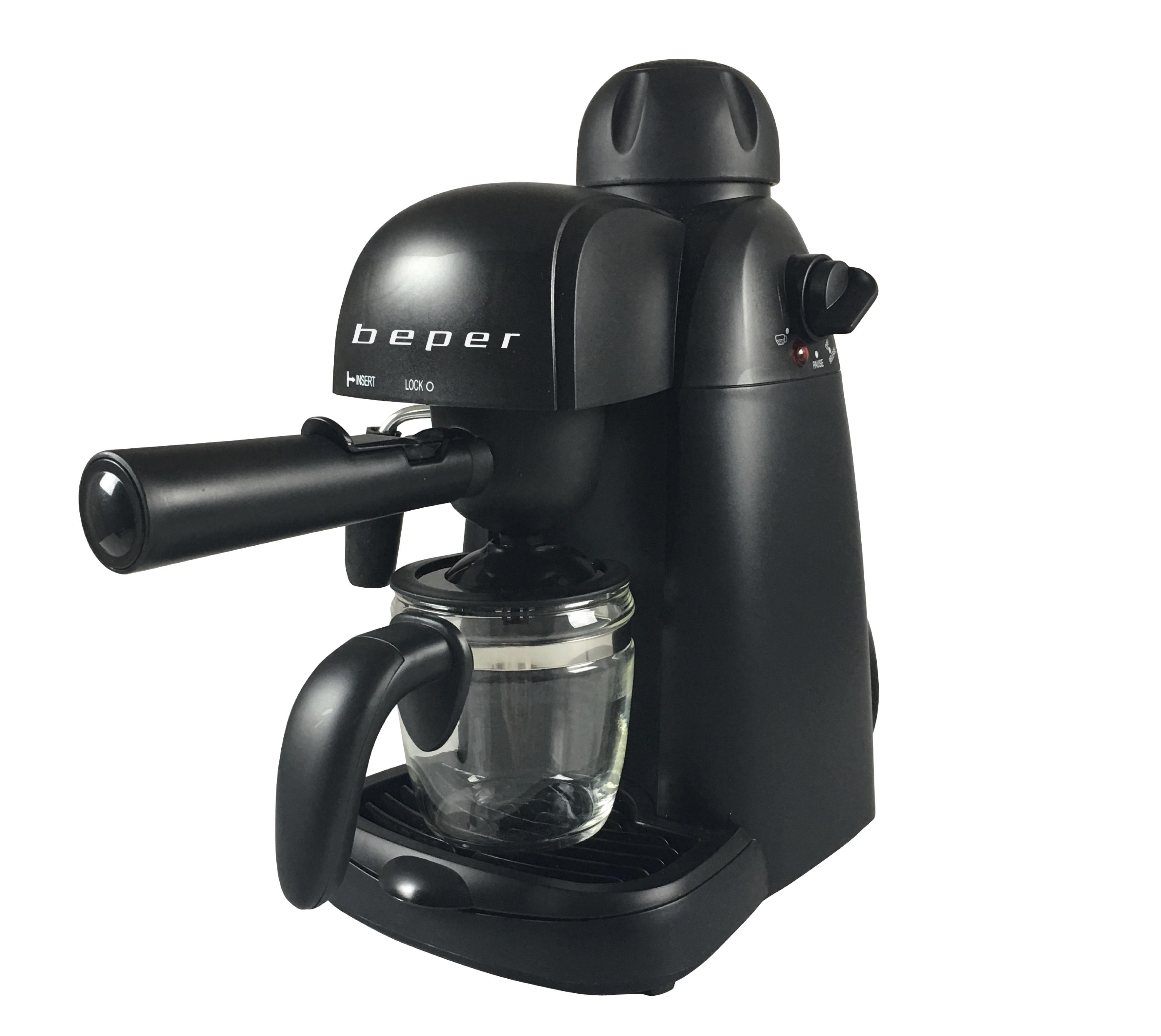 BEPER BC002 espresso kávovar 240ml, 3.5 bar, 800W