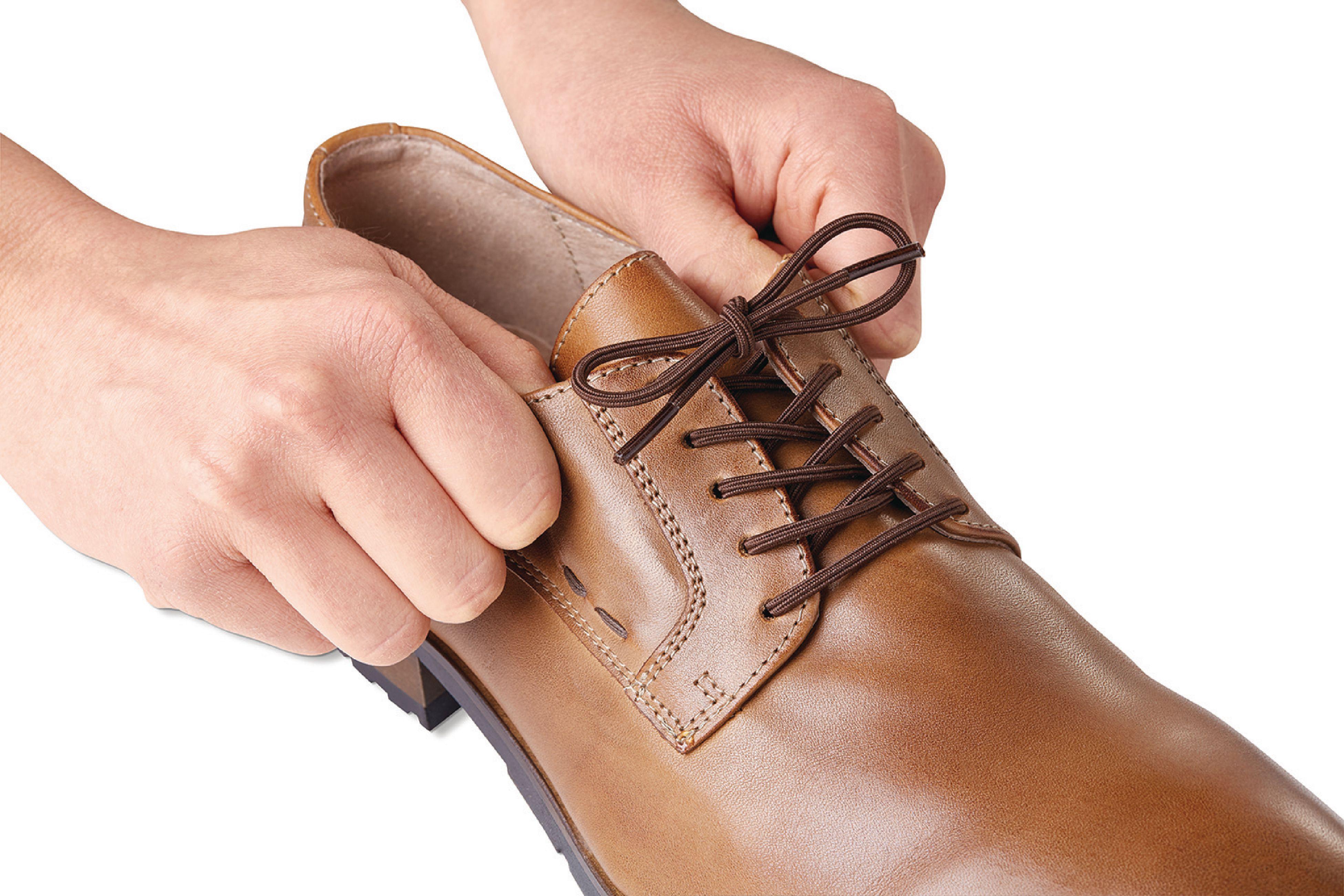 Vitility elastické tkaničky do bot 60 cm hnědé 2 páry VIT-70110030