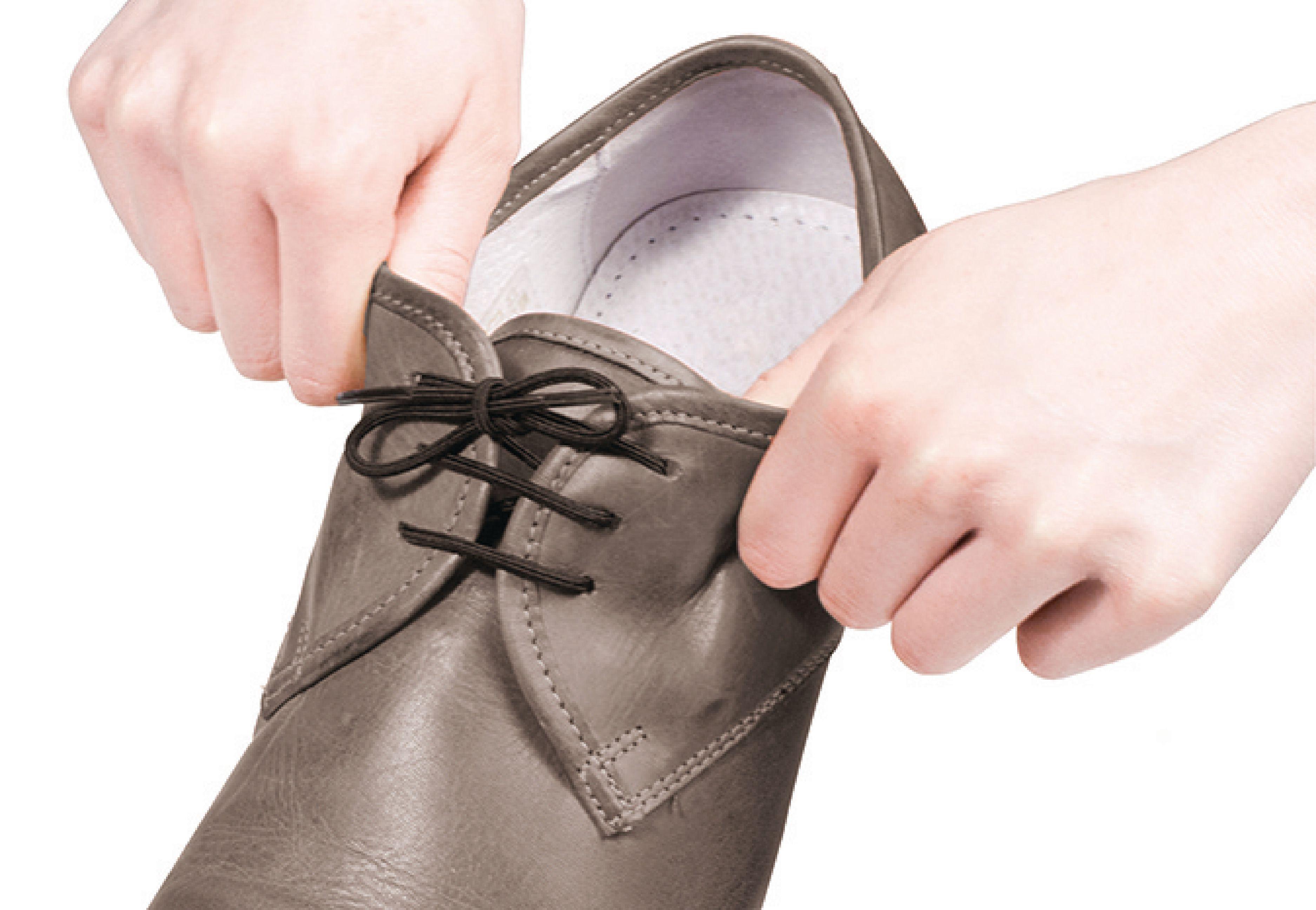 Vitility elastické tkaničky do bot 60 cm černé 2 páry VIT-70110020