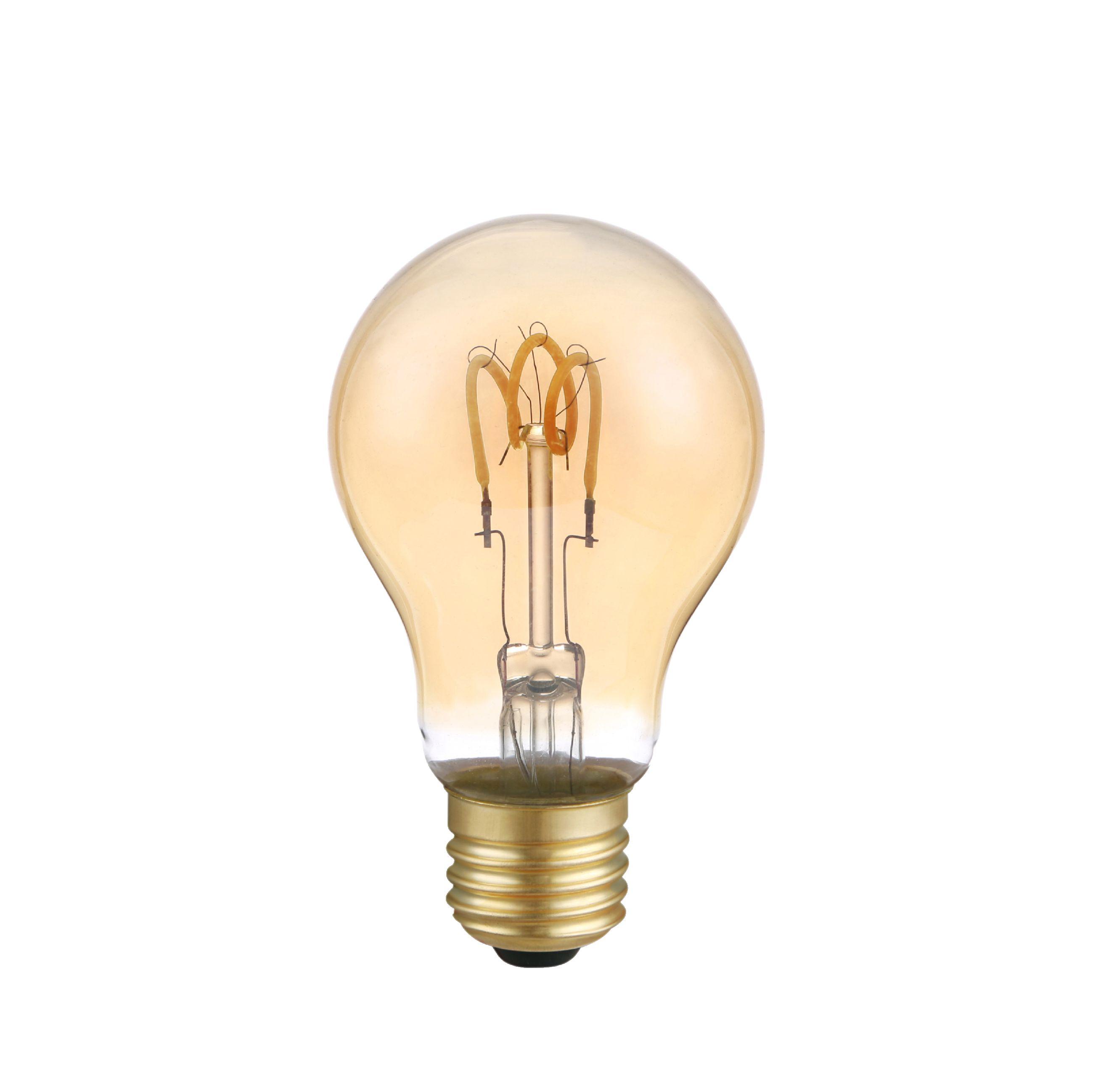 LED's Light LED žárovka vláknová E27 3W 100lm 2200K (LL600477)